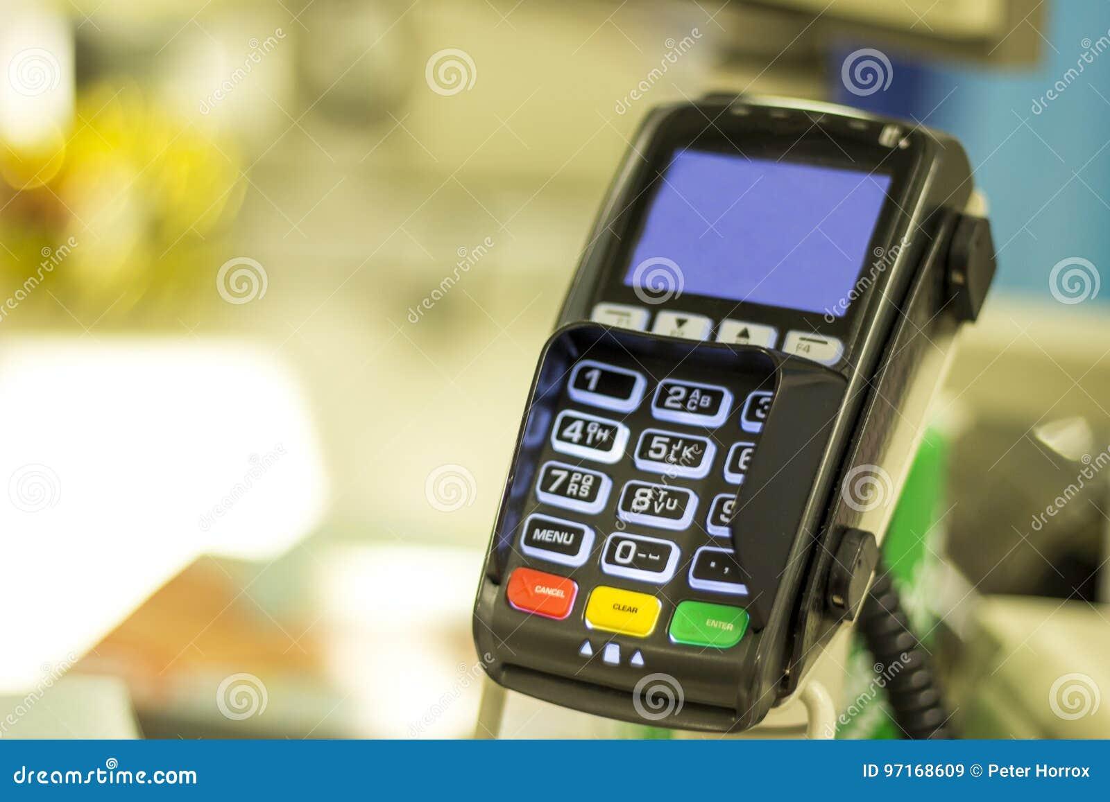 Retail card reader