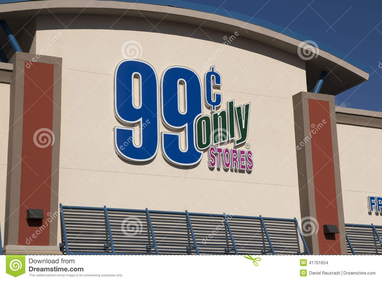 99 Cent Only Store Sign In Front Of A New Arizona