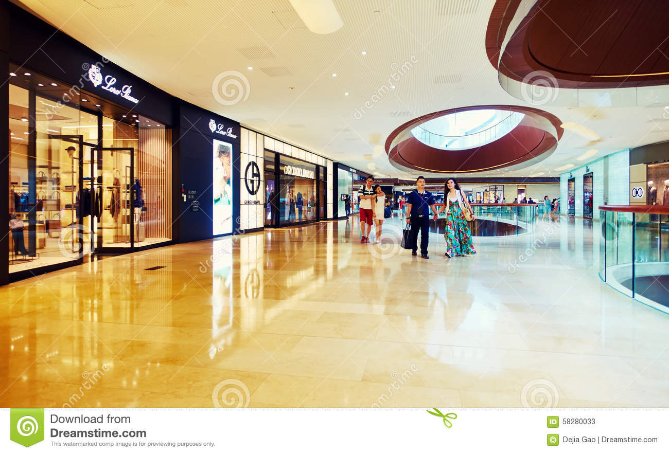 Shopping Mall Center Editorial Stock Photo Image 58280033