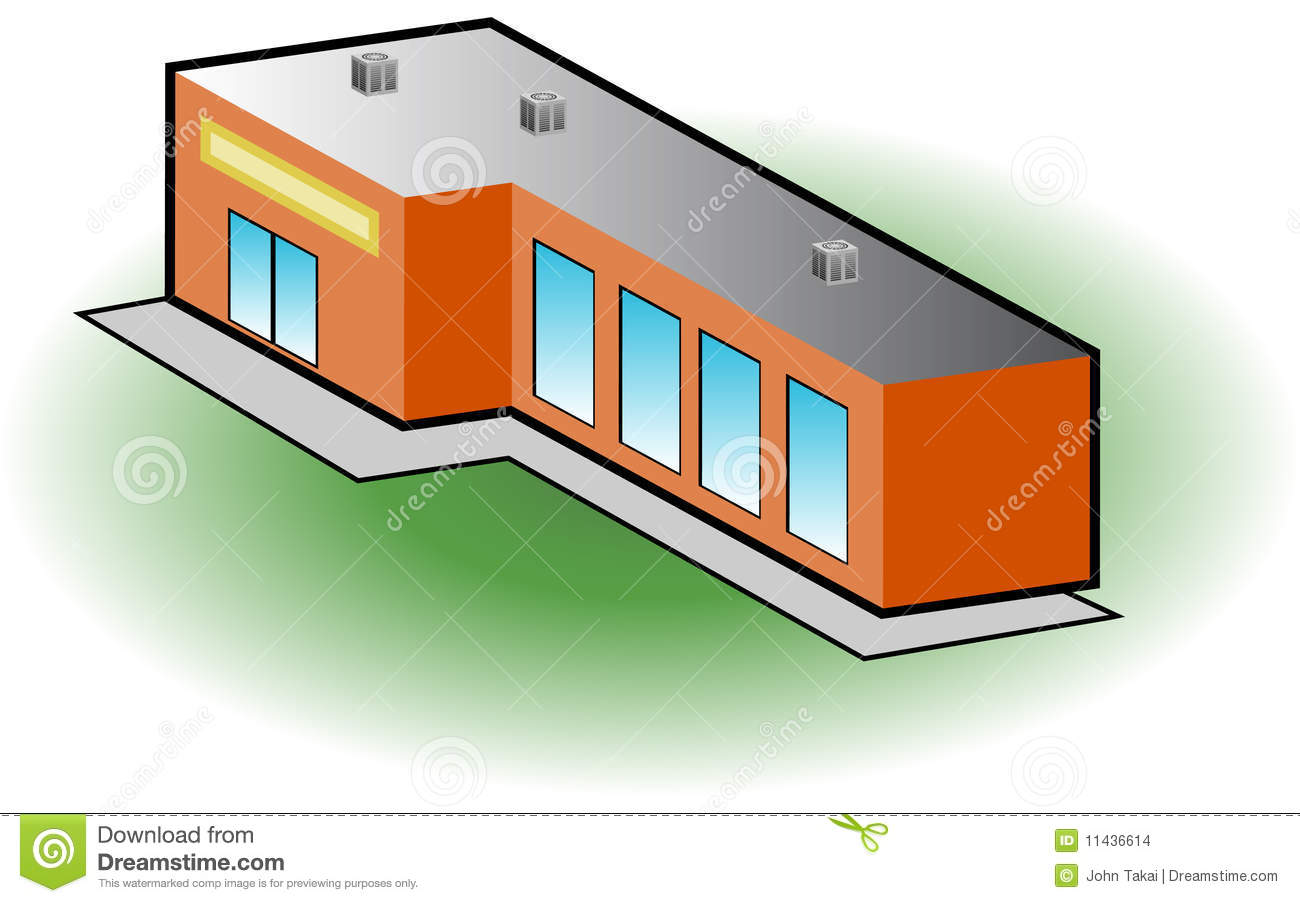 Retail Store Icon Stock Vector Illustration Of Office