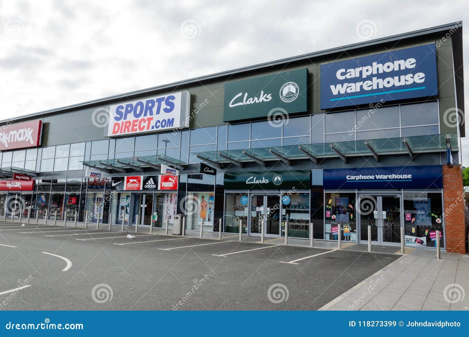 Retail stores at Prestatyn