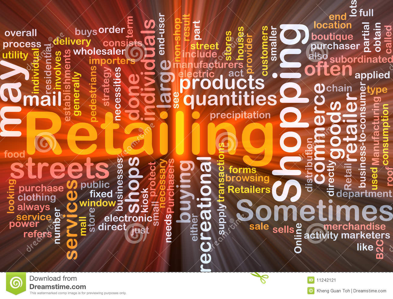 Software package box Word cloud concept illustration of retailing ...