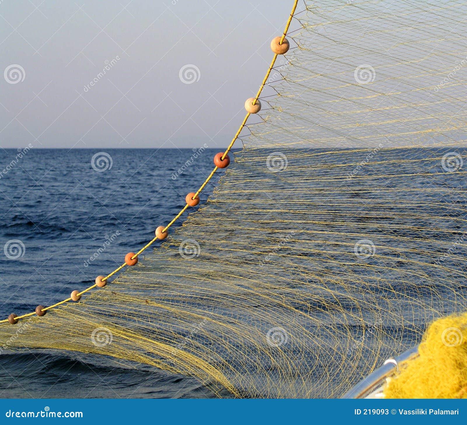 Rete da pesca immagine stock immagine di aegean - Rete da pesca per decorazioni ...