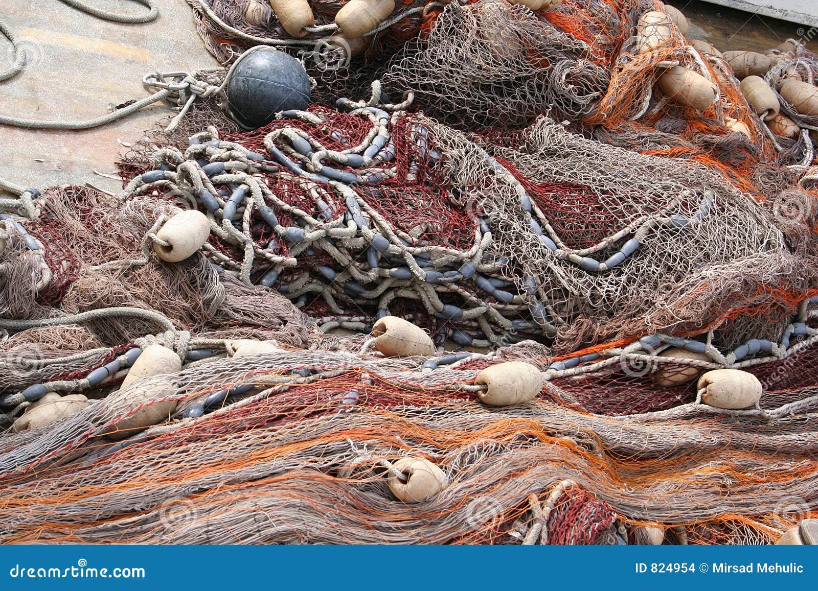 Rete da pesca fotografia stock immagine di rete - Rete da pesca per decorazioni ...