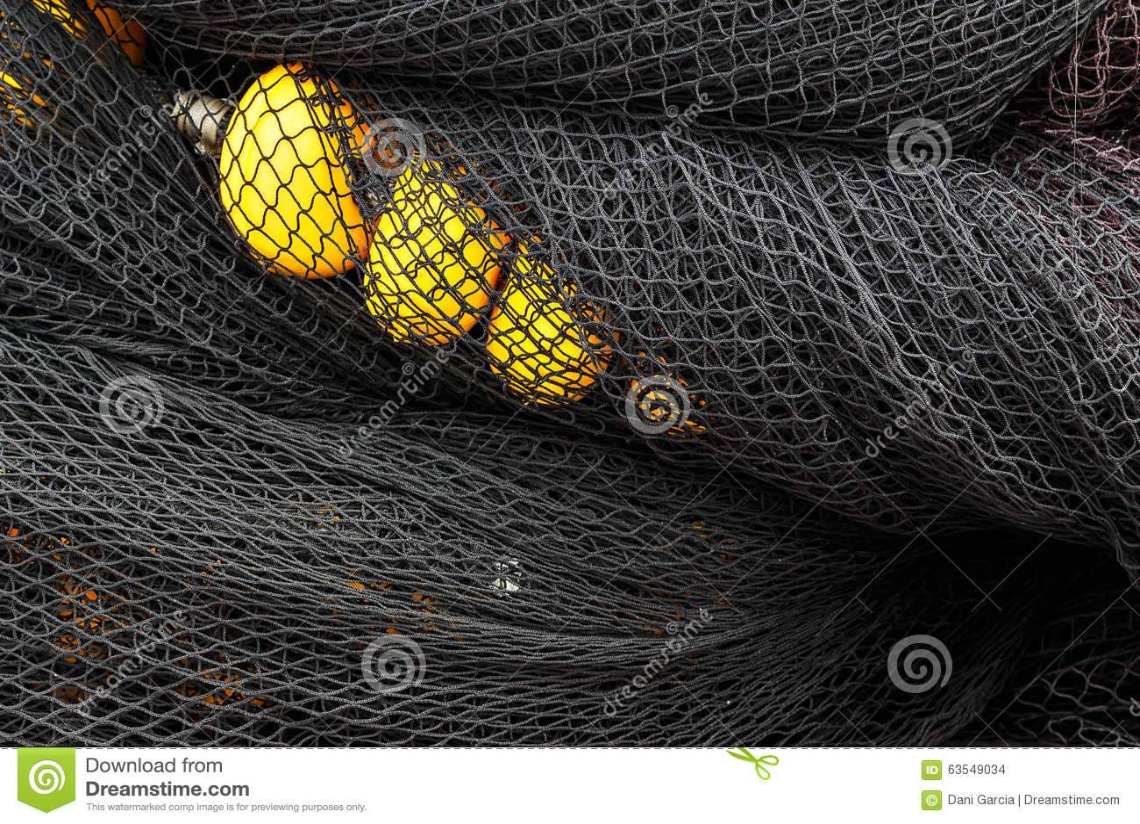 Rete da pesca con i sugheri fotografia stock immagine di for Rete da pesca arredamento