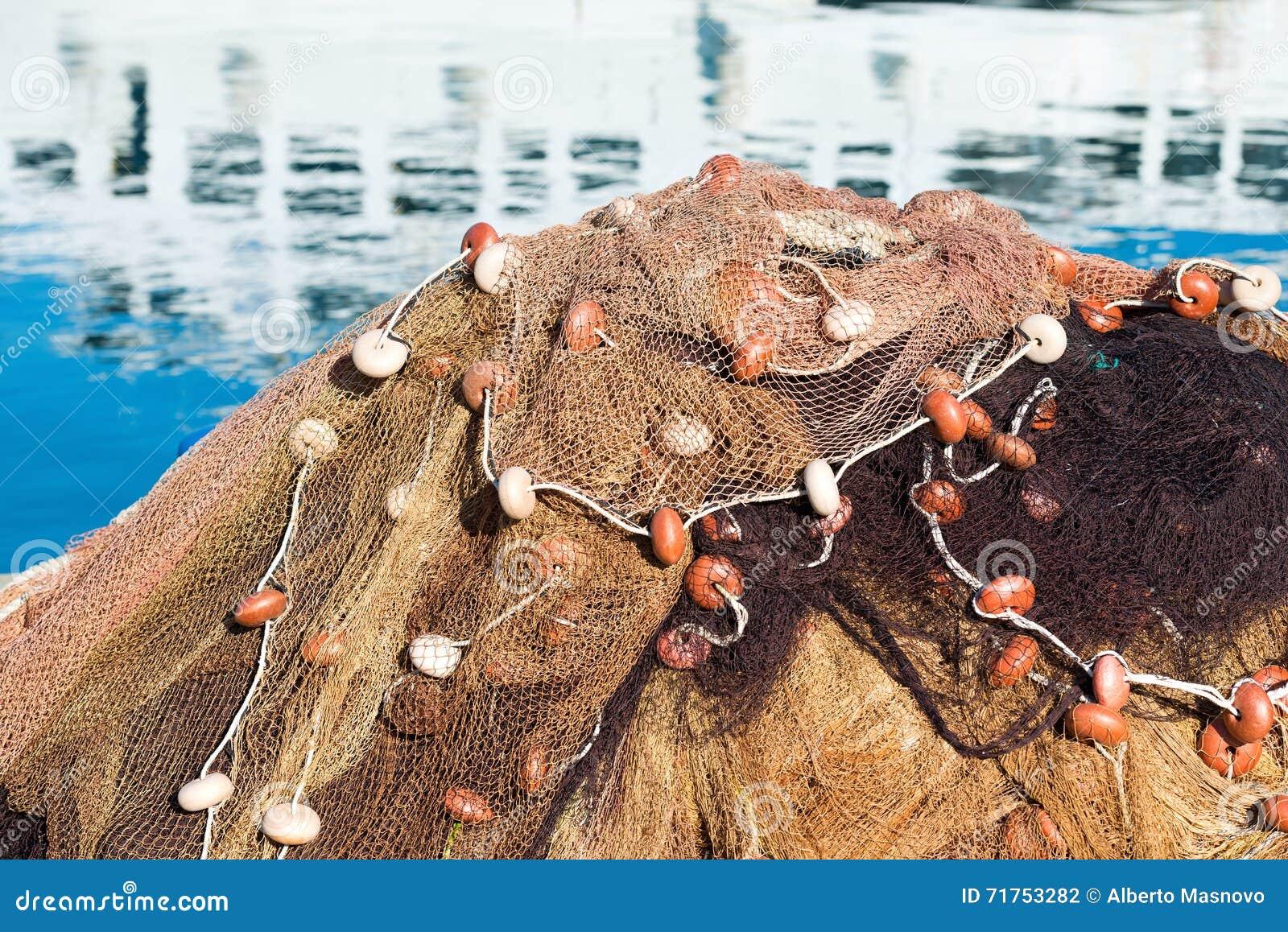 Rete da pesca e corde fotografia stock immagine 71753282 for Rete da pesca arredamento