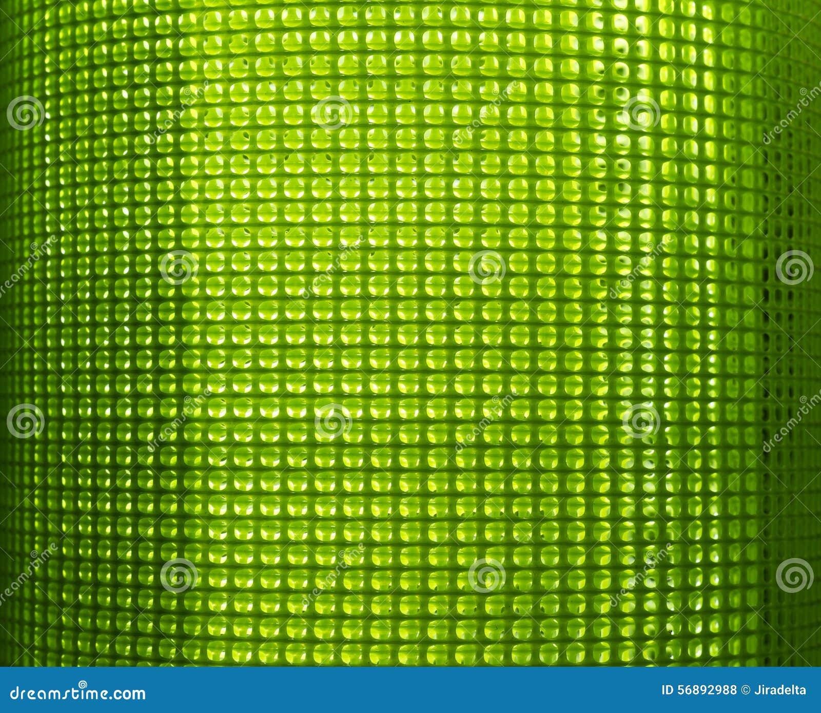 Rete di plastica verde