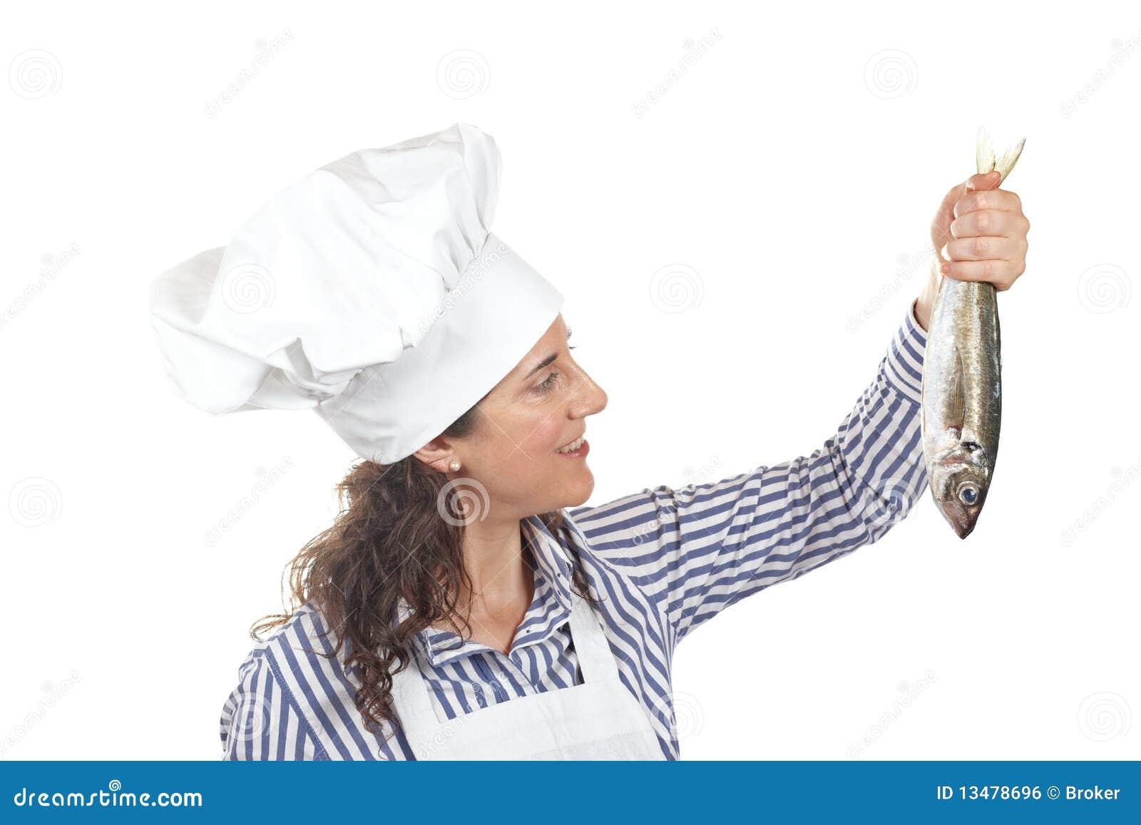 Retenir un poisson frais