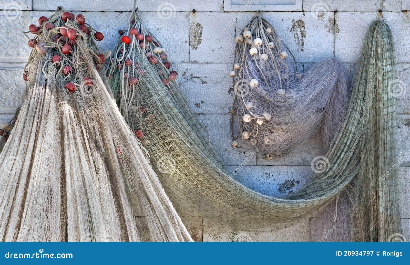 Reti da pesca fotografia stock libera da diritti - Rete da pesca per decorazioni ...