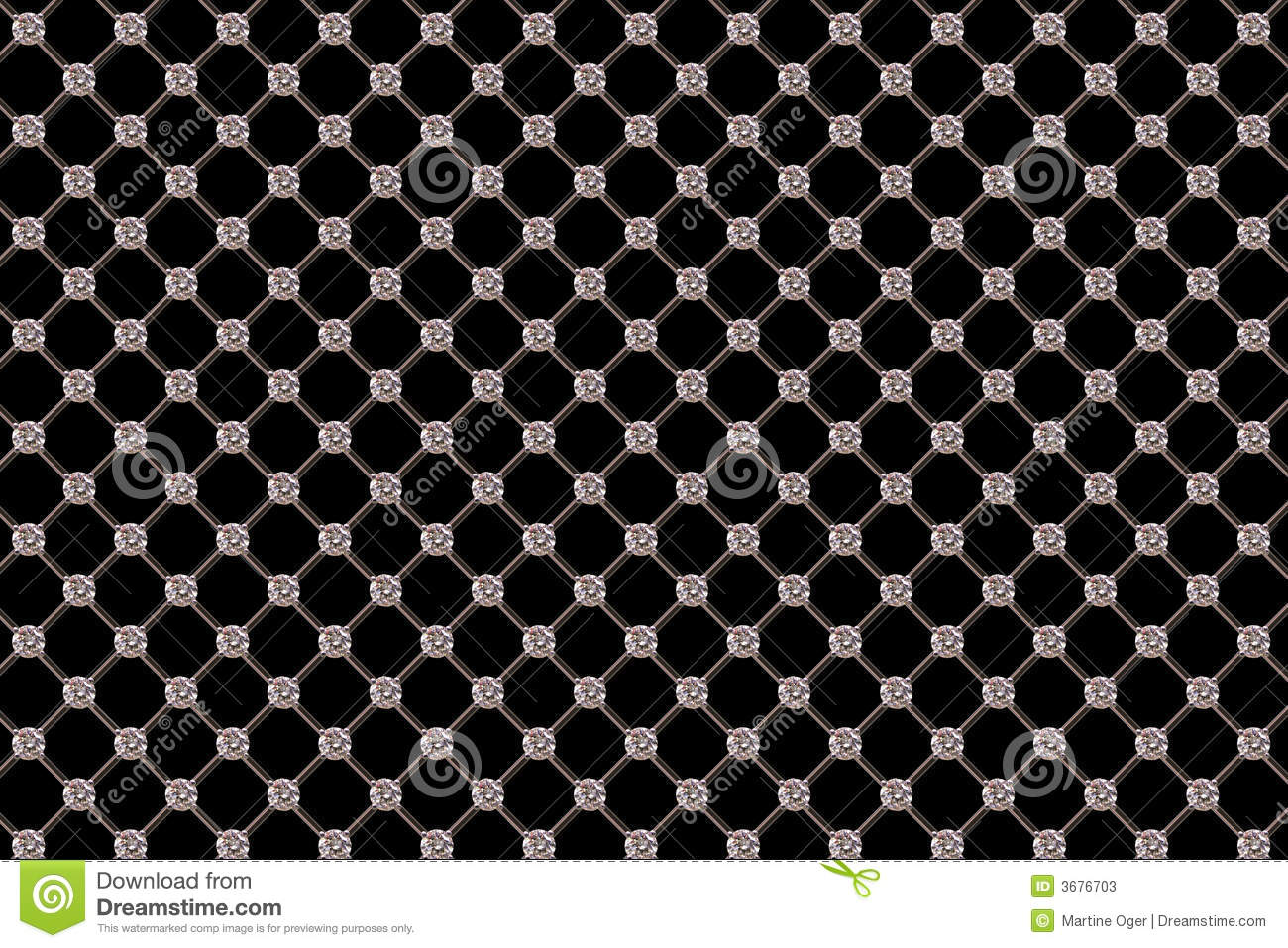 Download Reticolo del diamante. illustrazione di stock. Illustrazione di brillante - 3676703