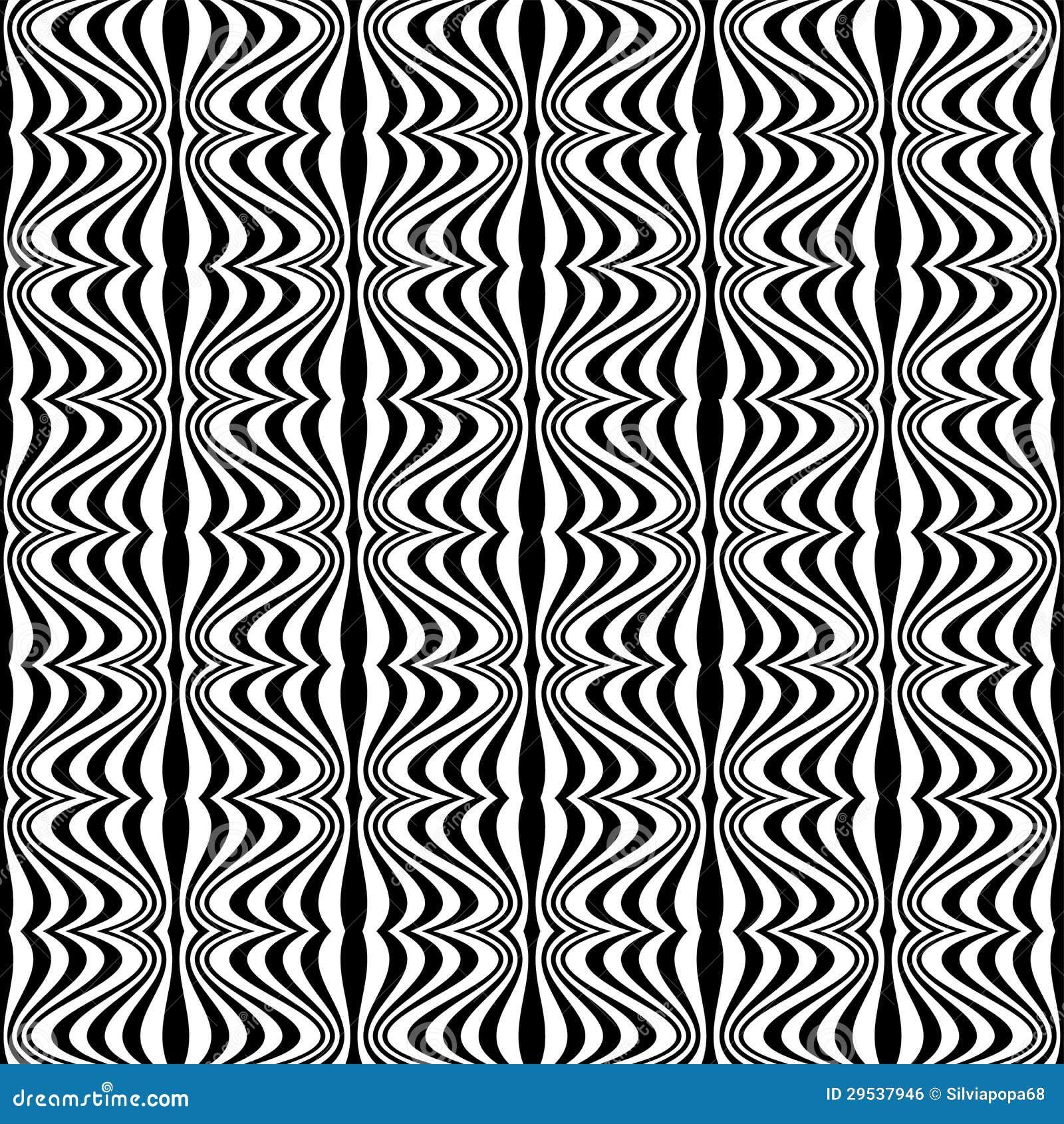 Reticolo Illusione Ottica Con Il Disegno Geometrico