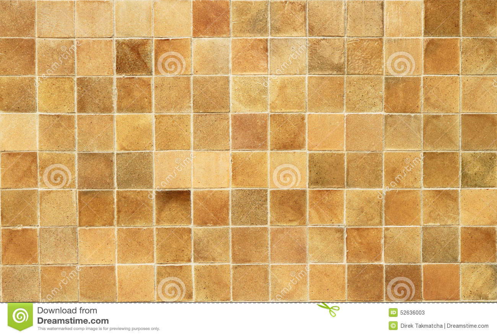 Reticolo quadrato delle mattonelle del brown immagine stock