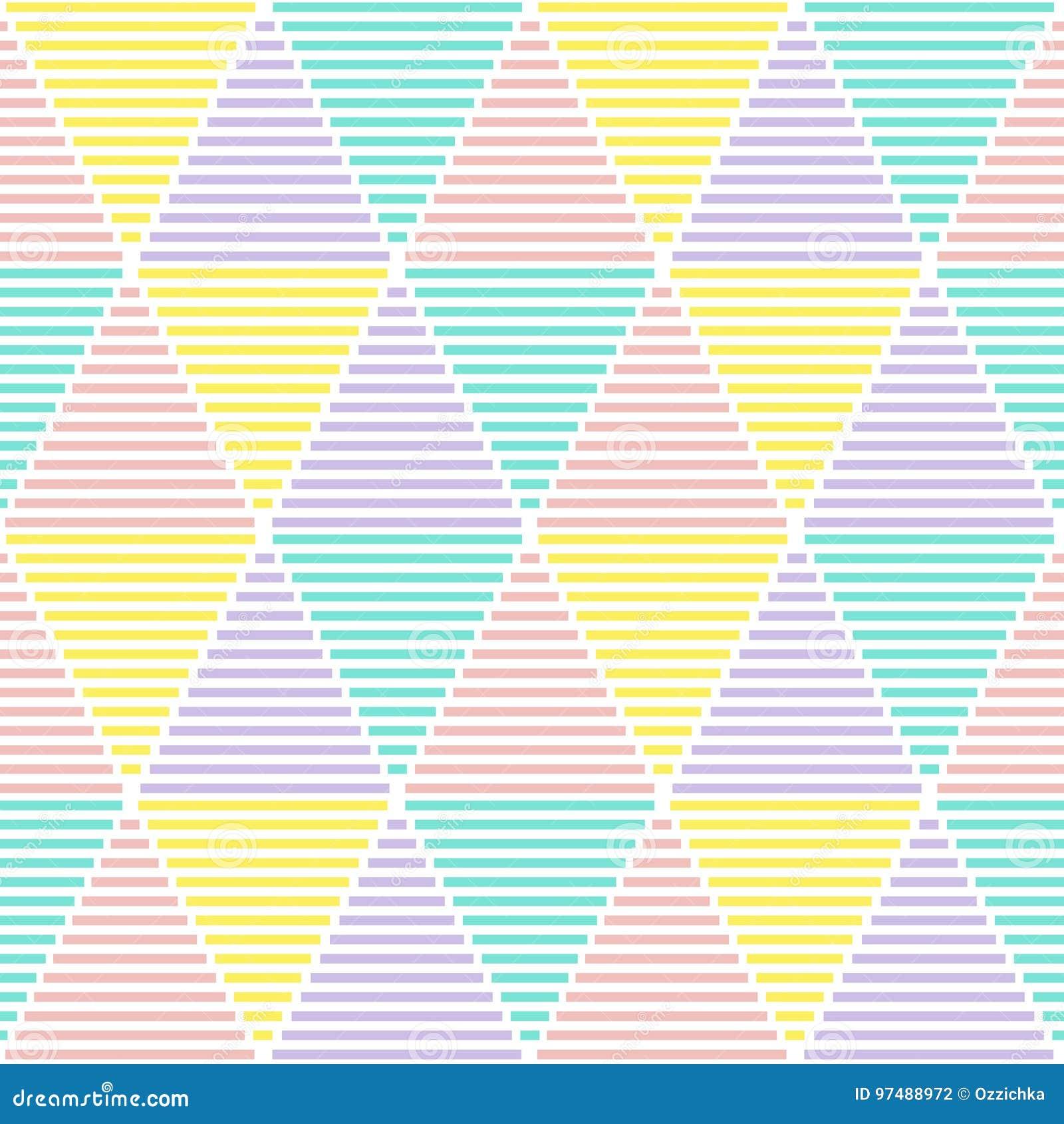 Reticolo senza giunte geometrico astratto Struttura moderna Priorità bassa geometrica variopinta