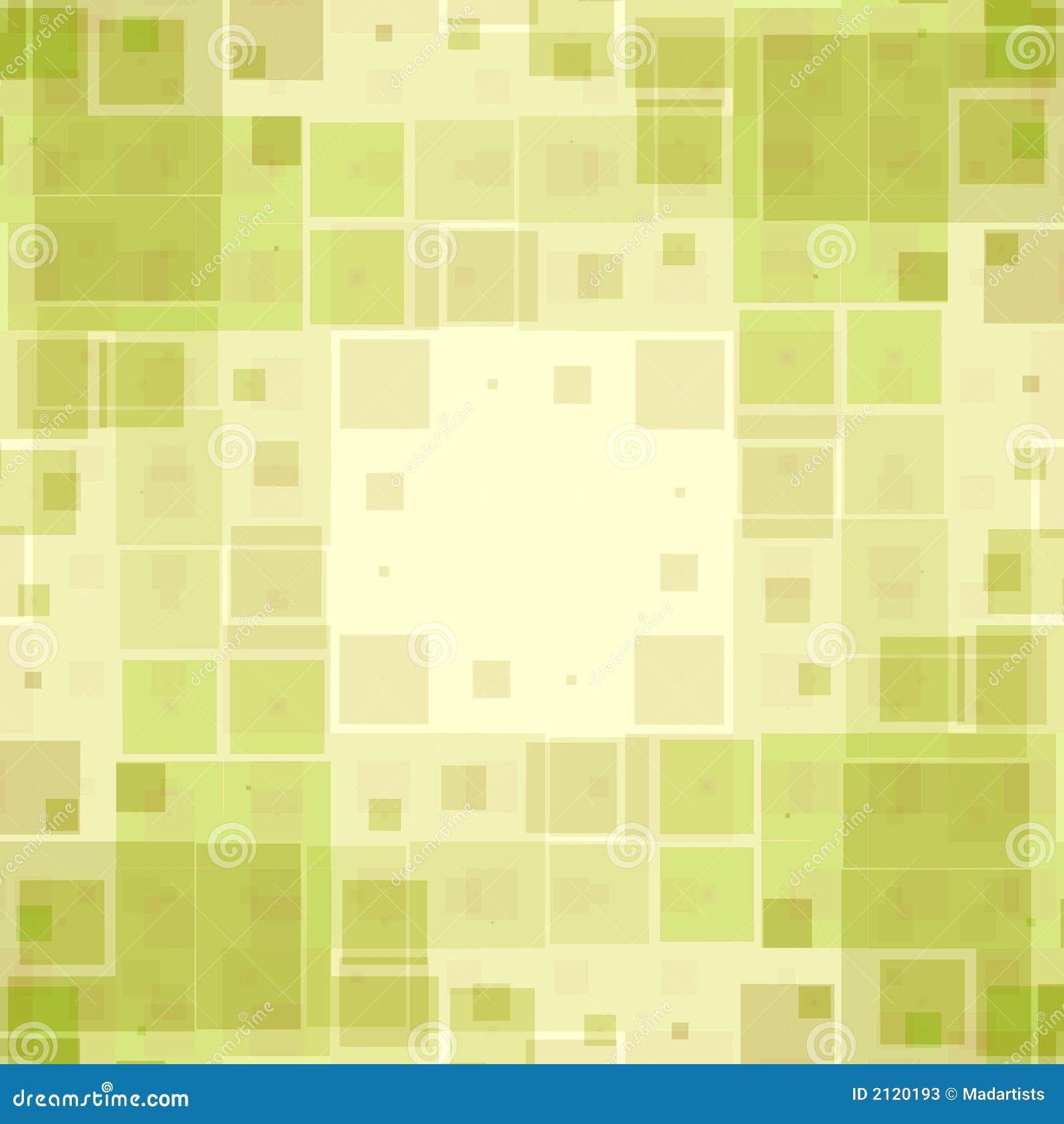 Reticolo verde di struttura delle caselle