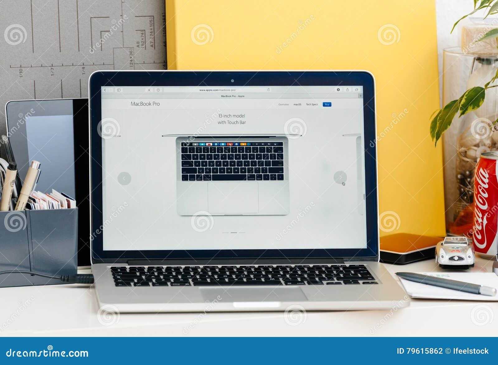 Retina nova de MacBook Pro 13 polegadas de cima de