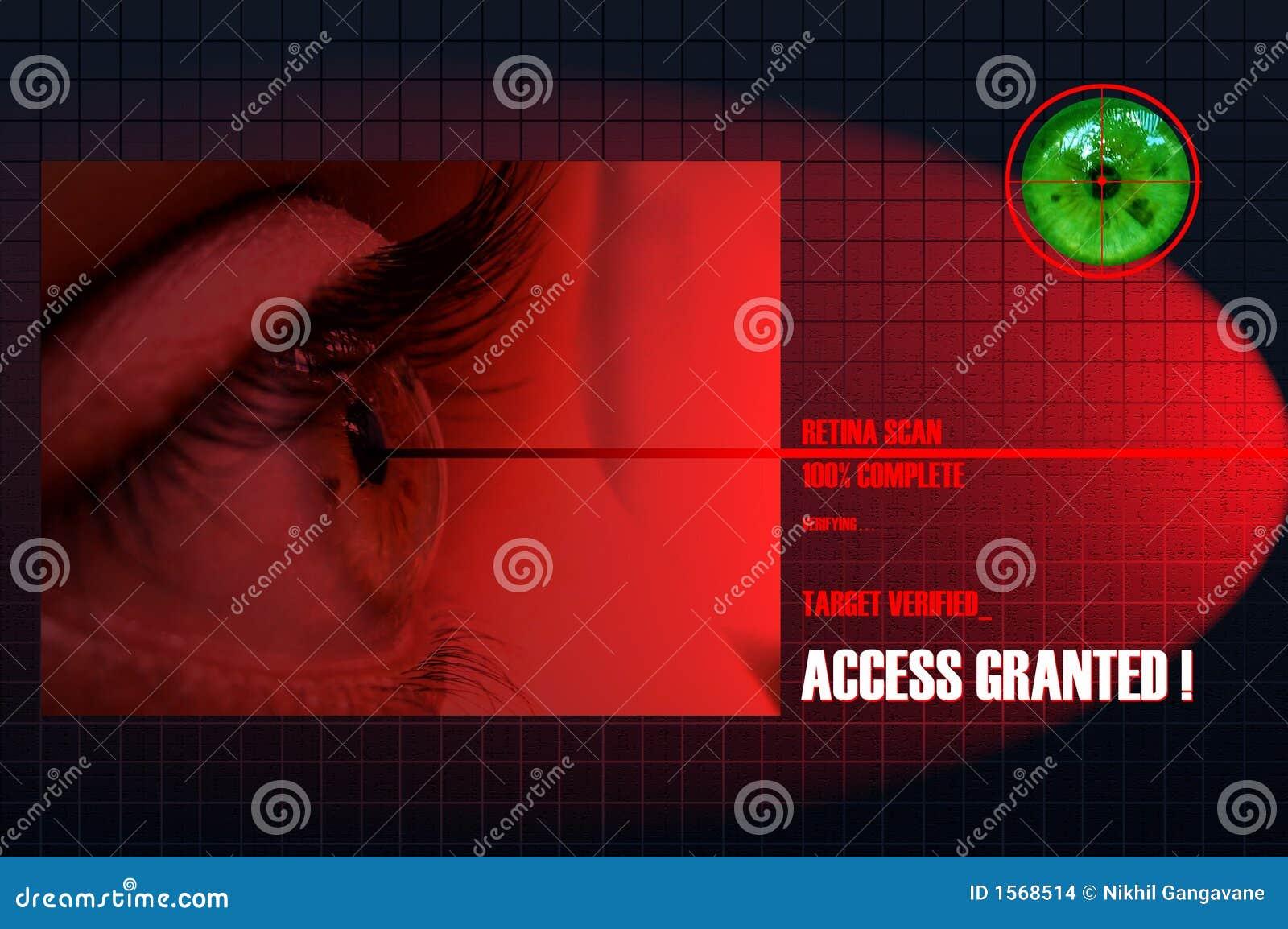 Retina Scan Stock Images Image 1568514