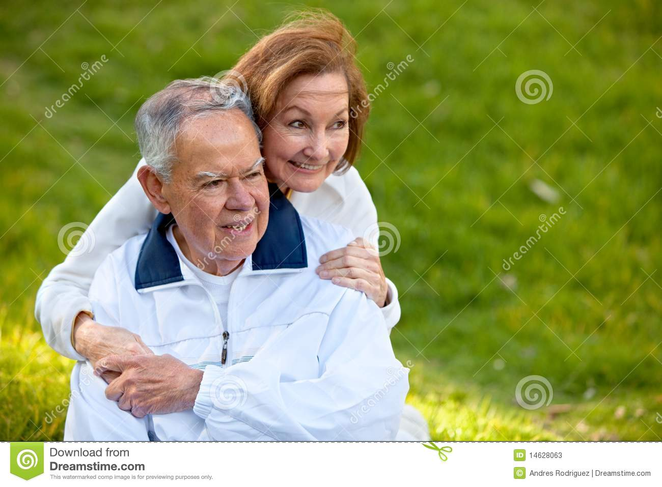 Retired Couple Outdoors Stock Photos Image 14628063
