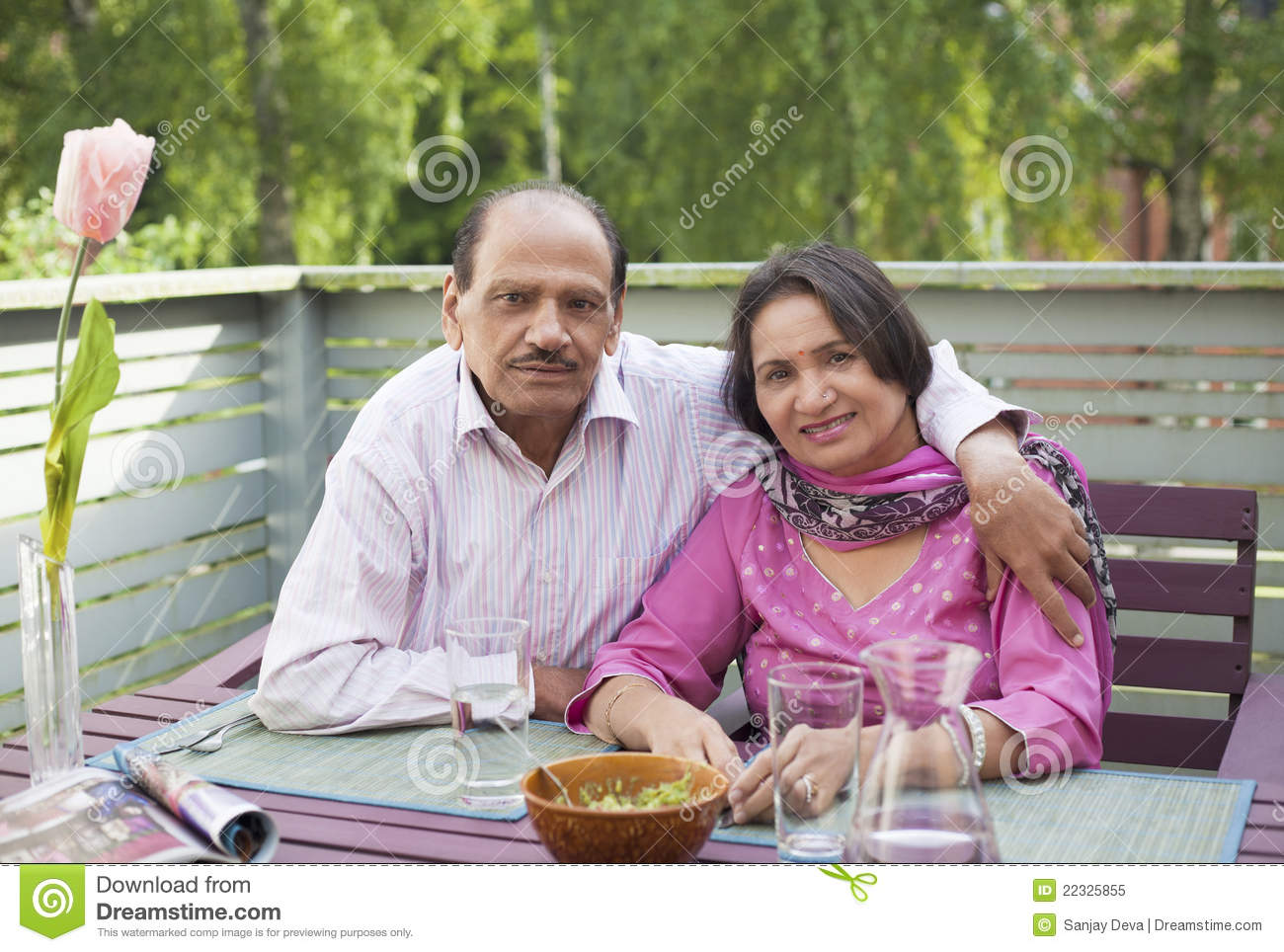 Retired indian couple stock image image of mature for House plans for retired couples