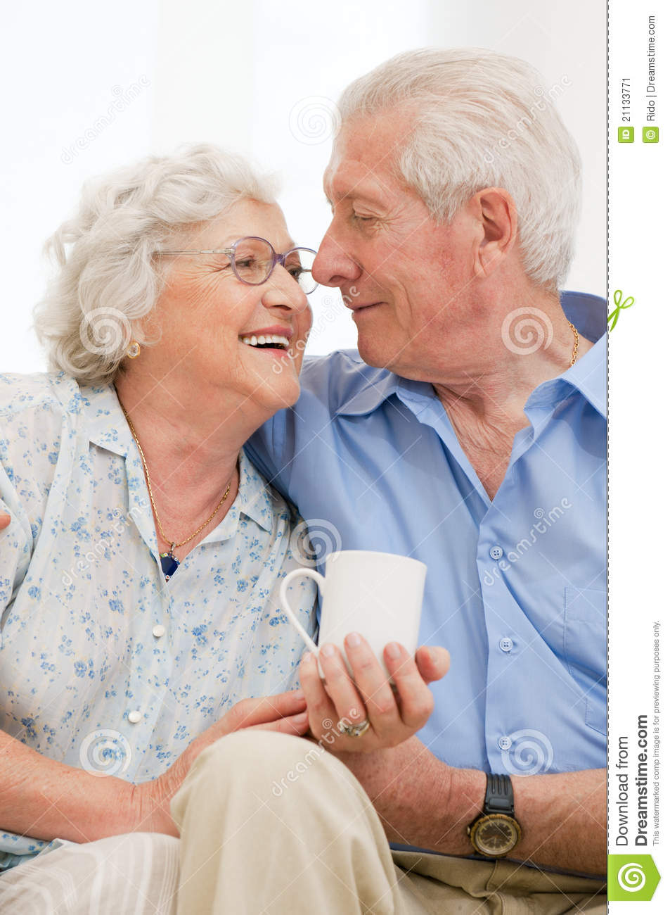 Retired loving aged couple stock image image 21133771 for House plans for retired couples