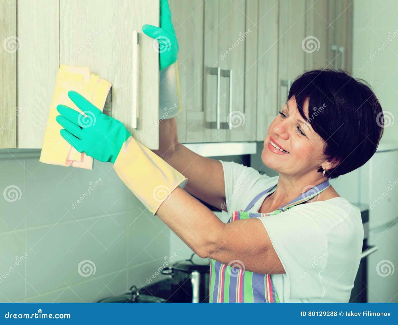 Home maid mature