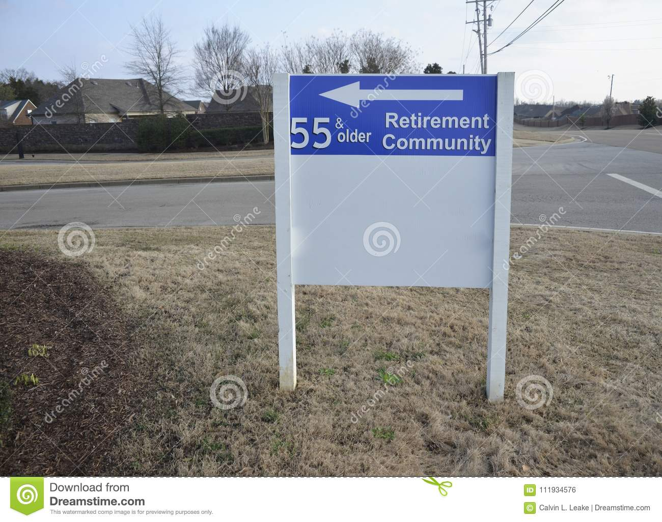 A Retirement Community Where All Residents Are Over The Age Of 55 And Older Senior Citizens