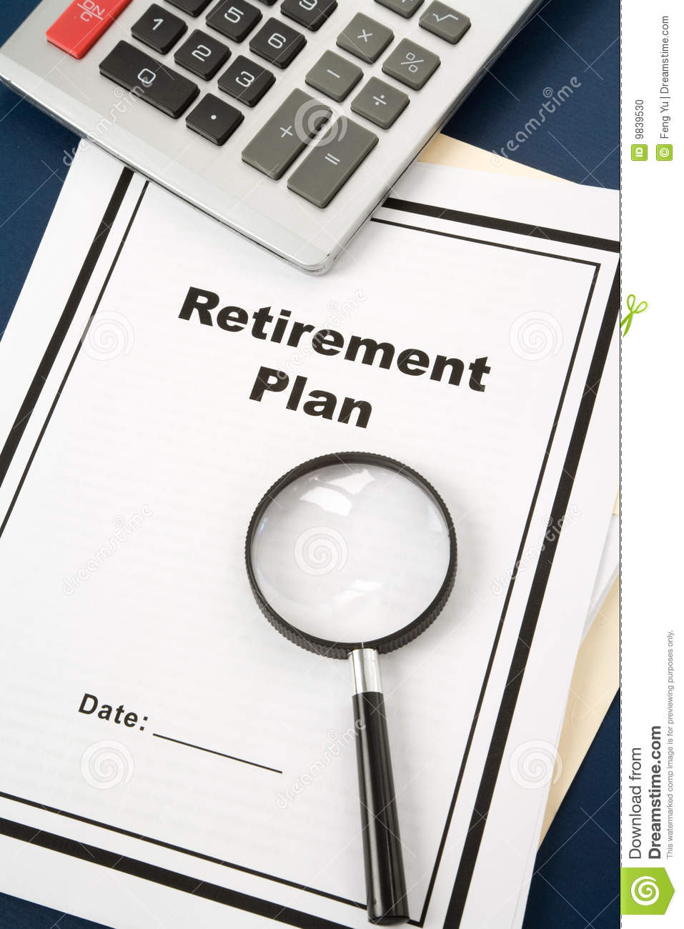Retirement Plan Loan Liability Tax Form Concept Royalty Free Stock Photography Cartoondealer