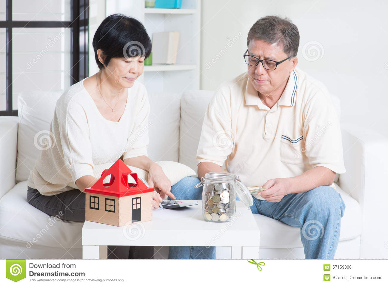 Retirement planning stock photo image 57159308 for House plans for retired couples