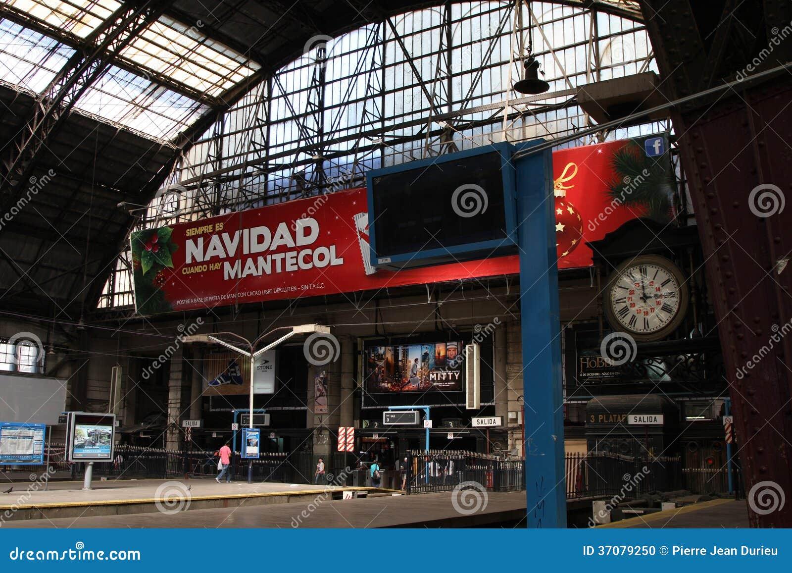 Download Retiro Stacja Kolejowa W Buenos Aires Obraz Editorial - Obraz złożonej z podróż, południe: 37079250