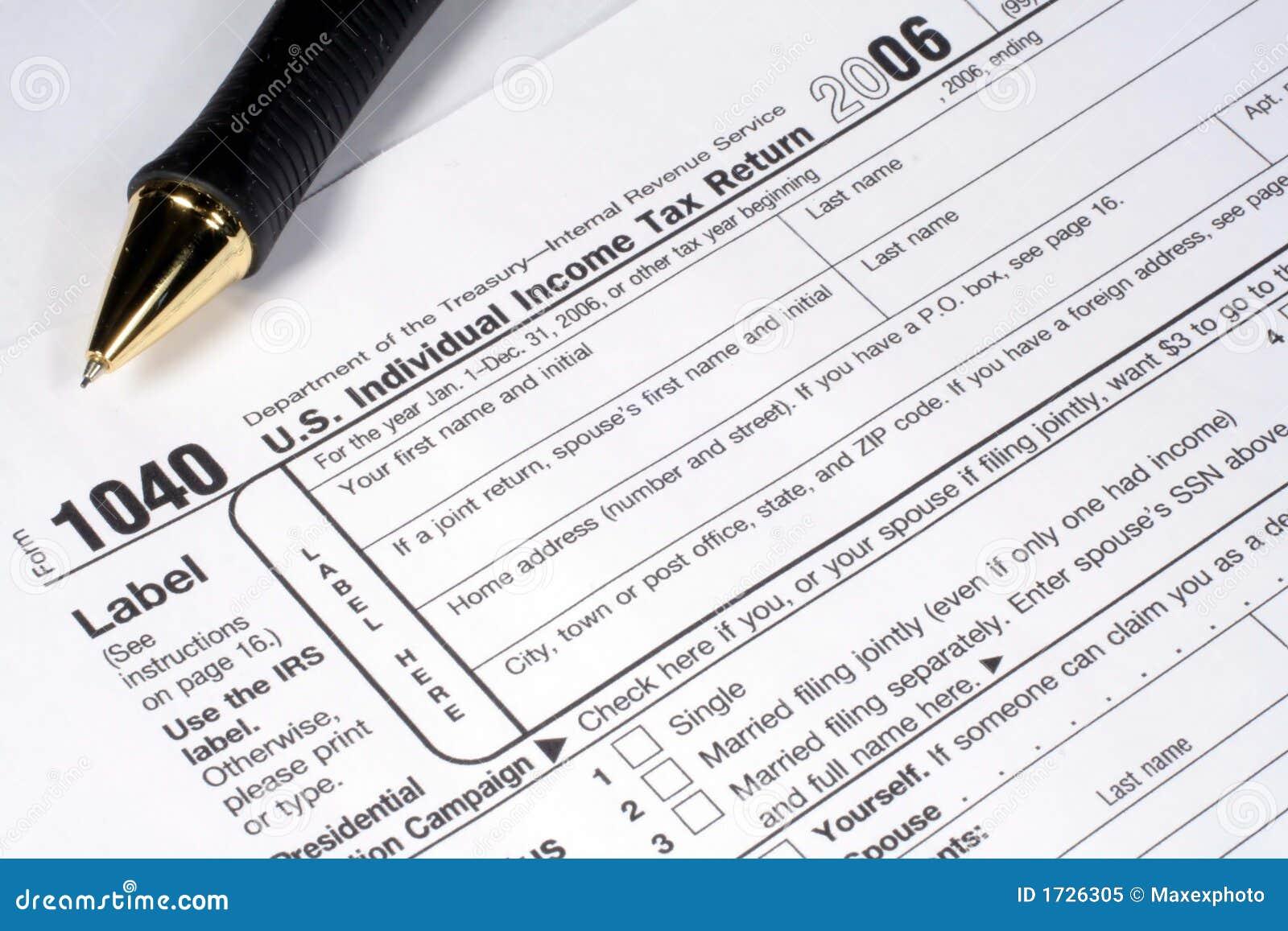 Retorno e pena de imposto da renda