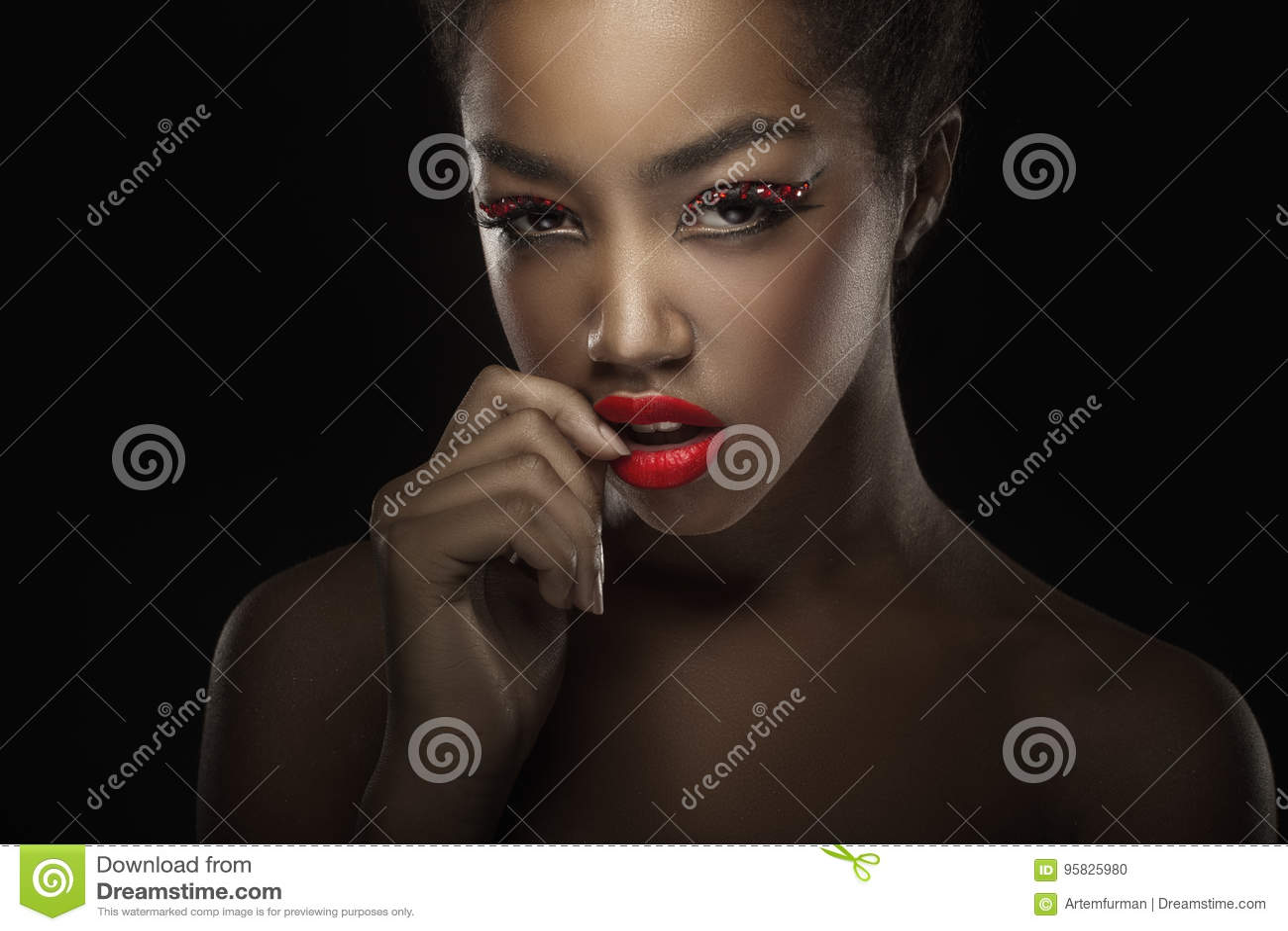 Retrato atractivo