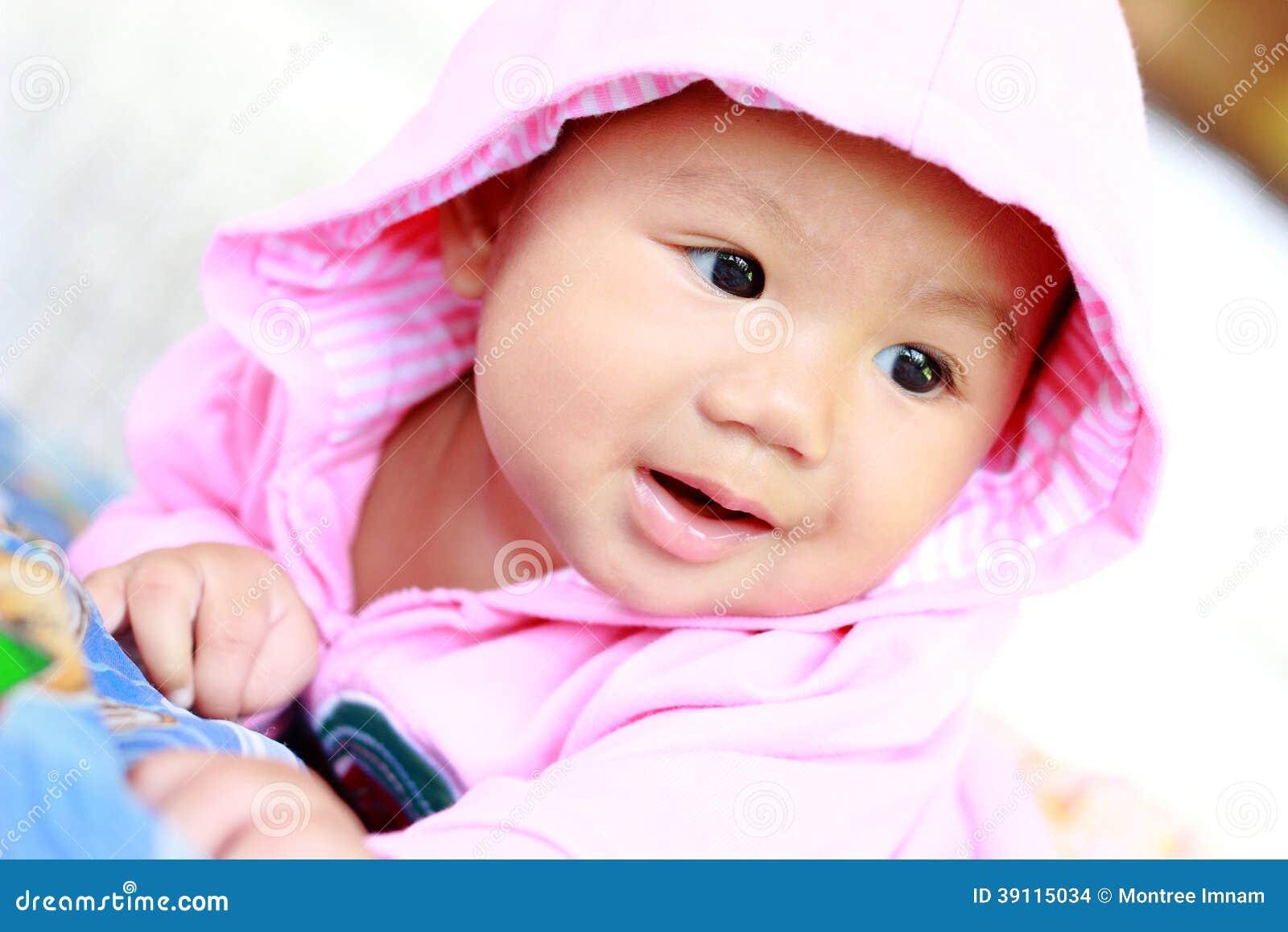 Retrato bonito do bebê do bebê