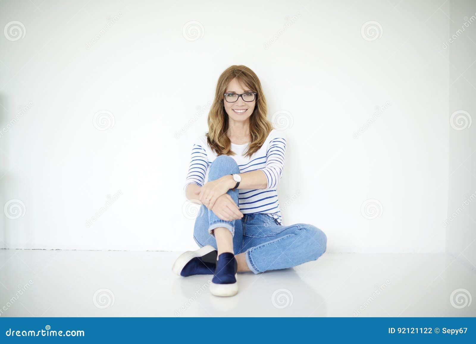 Retrato confidente de la mujer