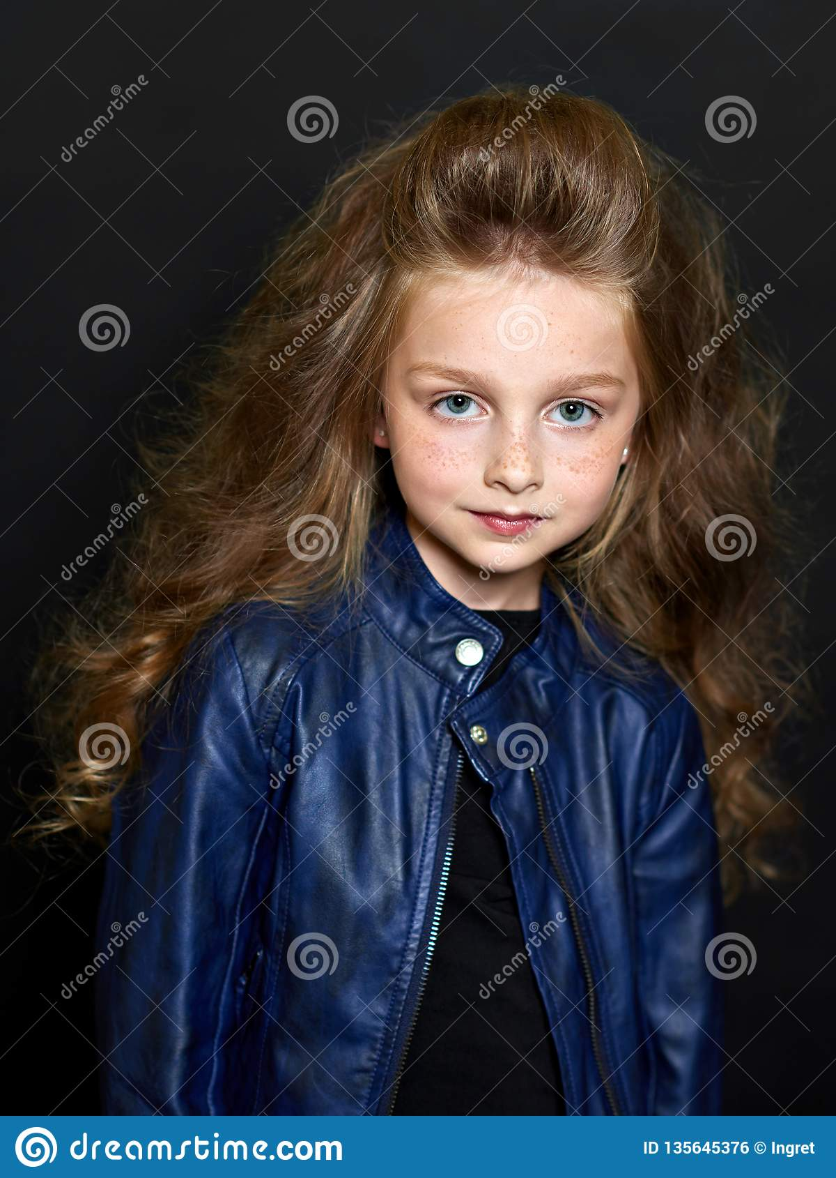 Retrato da criança bonita