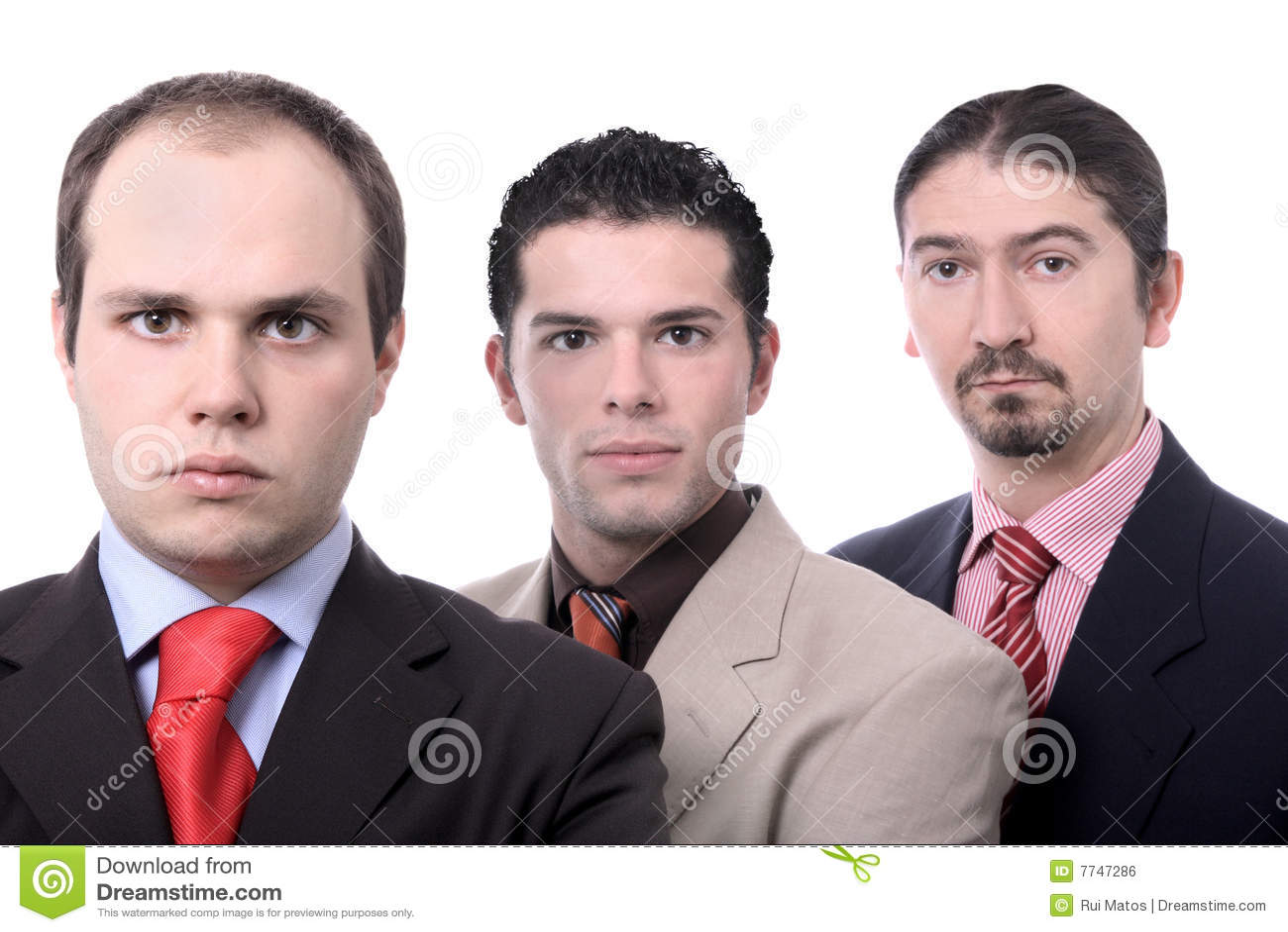 Retrato da equipe do negócio