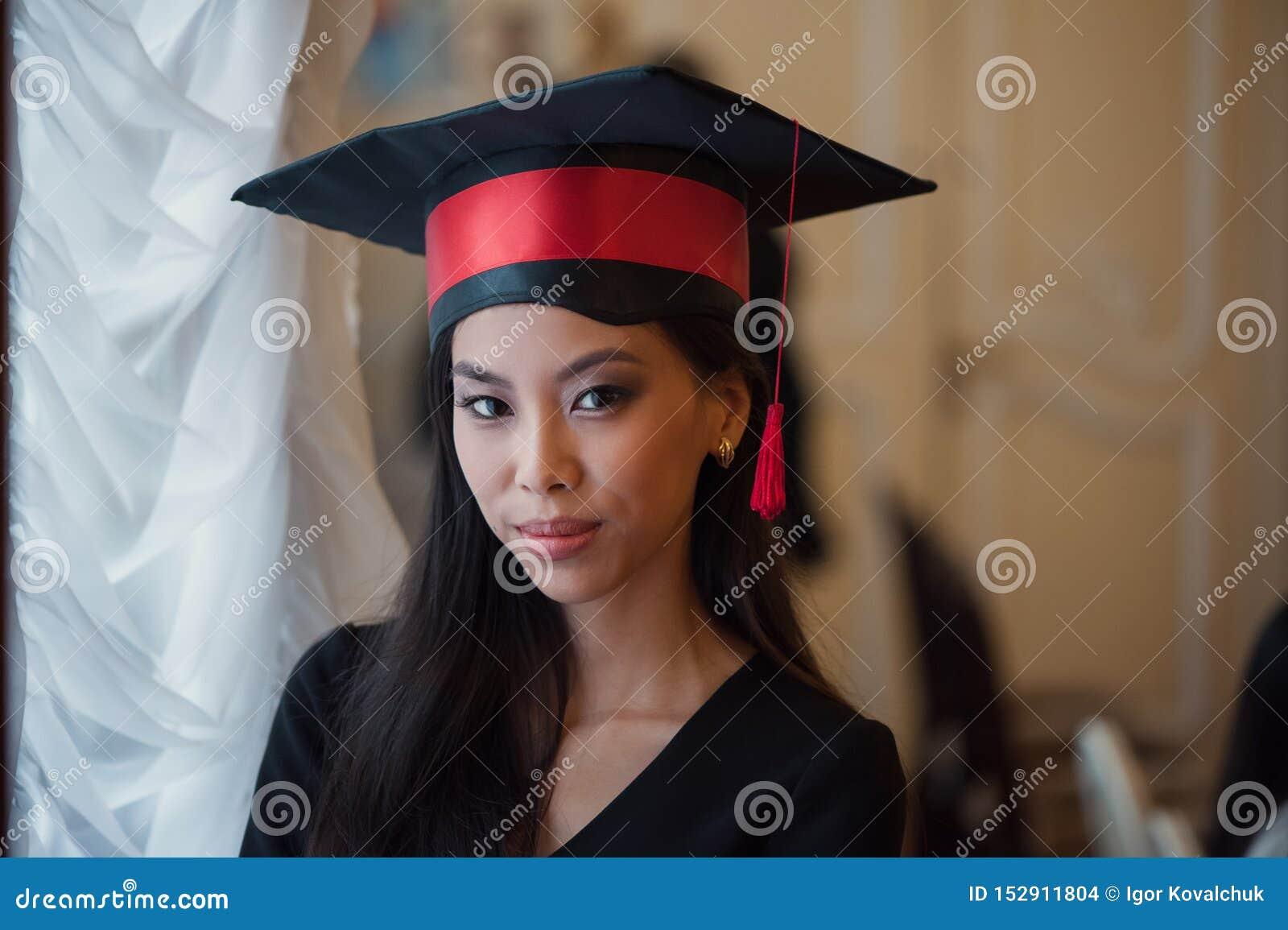 Retrato da jovem asiática
