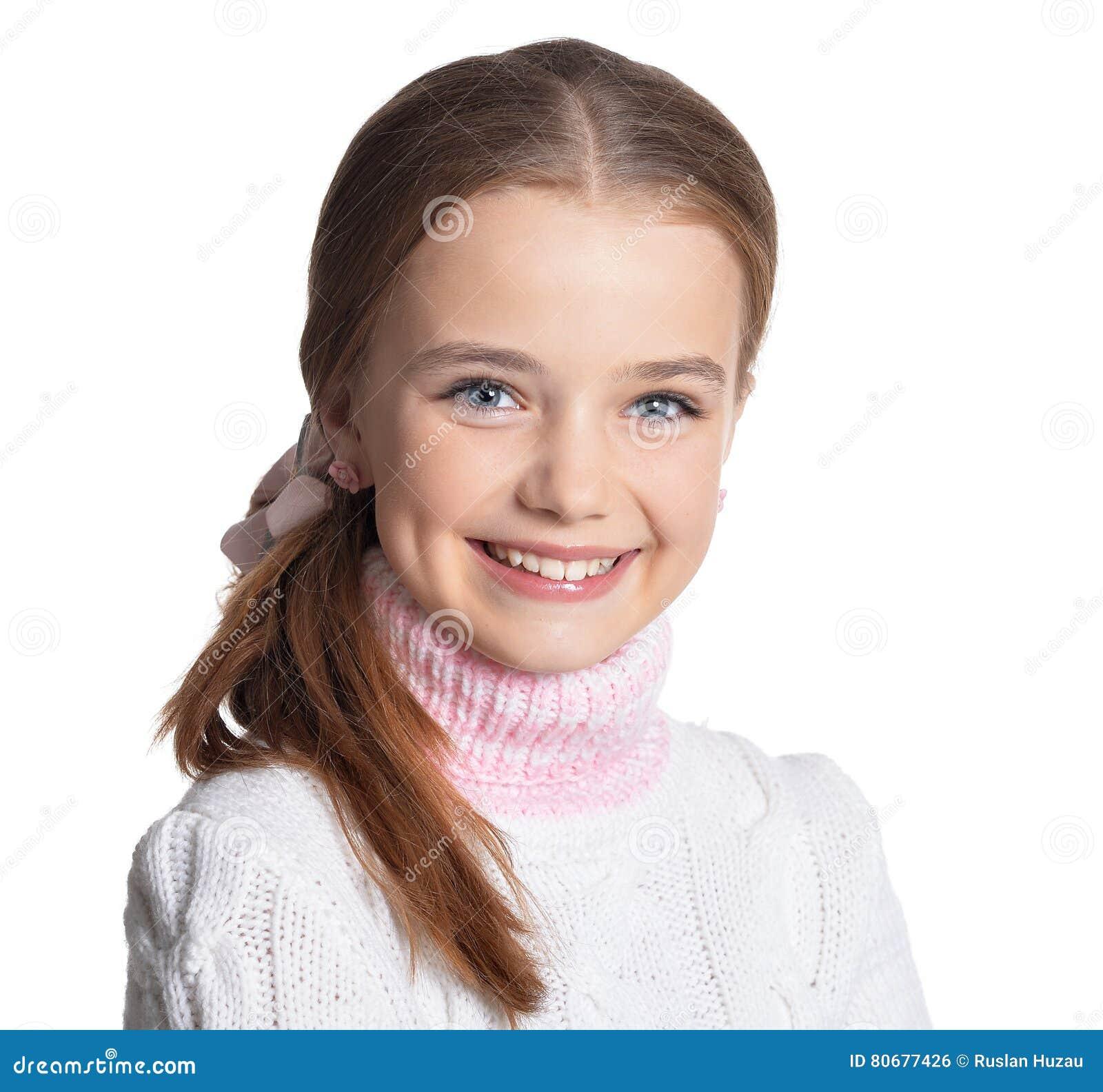 Retrato da menina do preteen