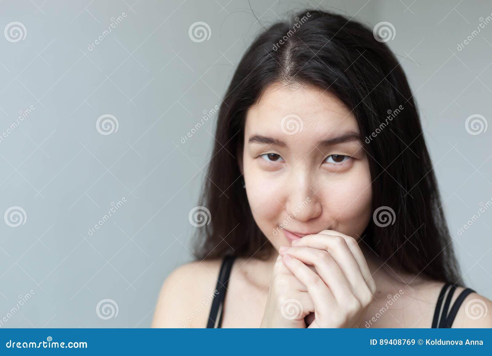 Retrato da mulher asiática