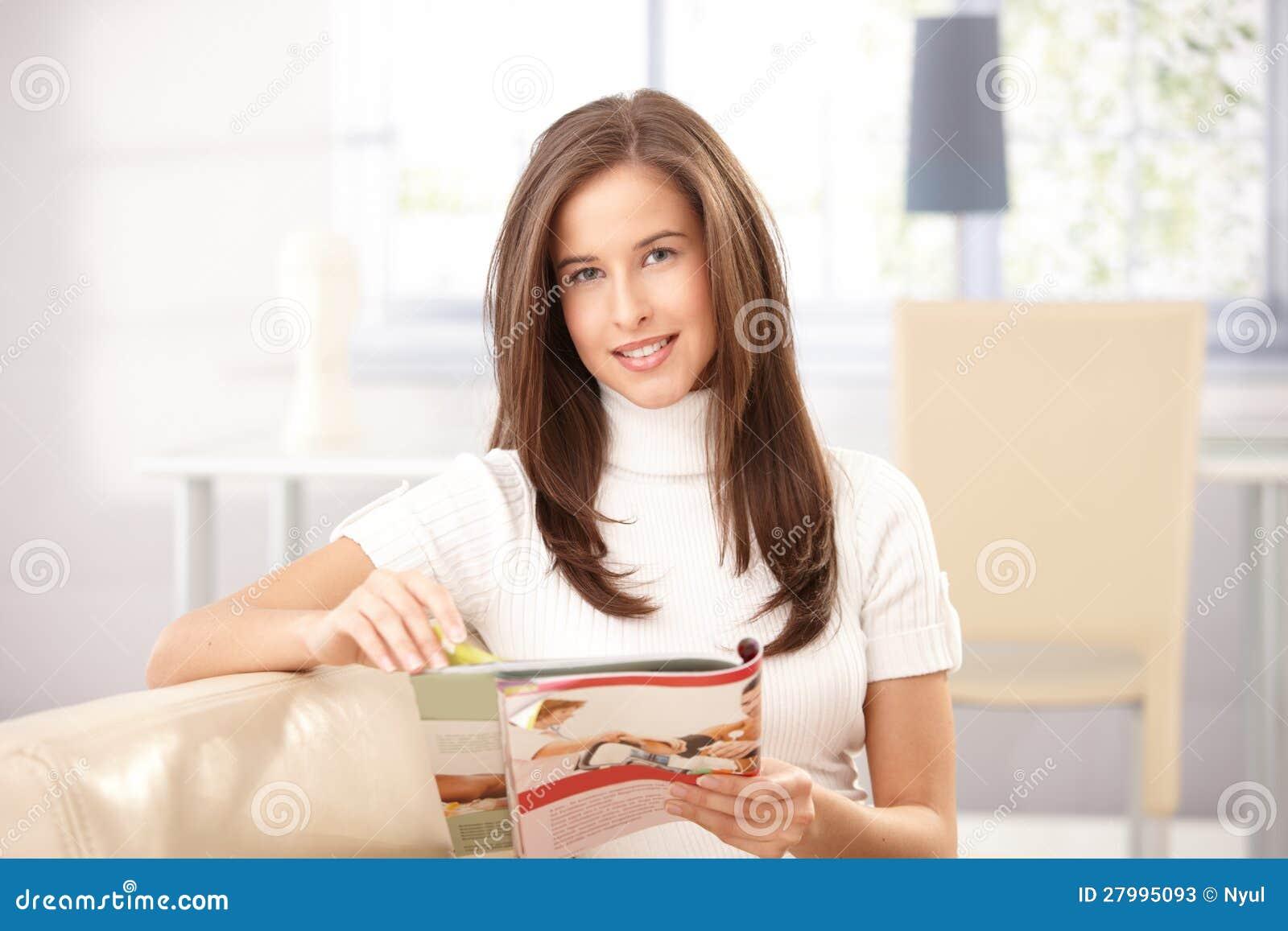 Retrato da mulher com compartimento