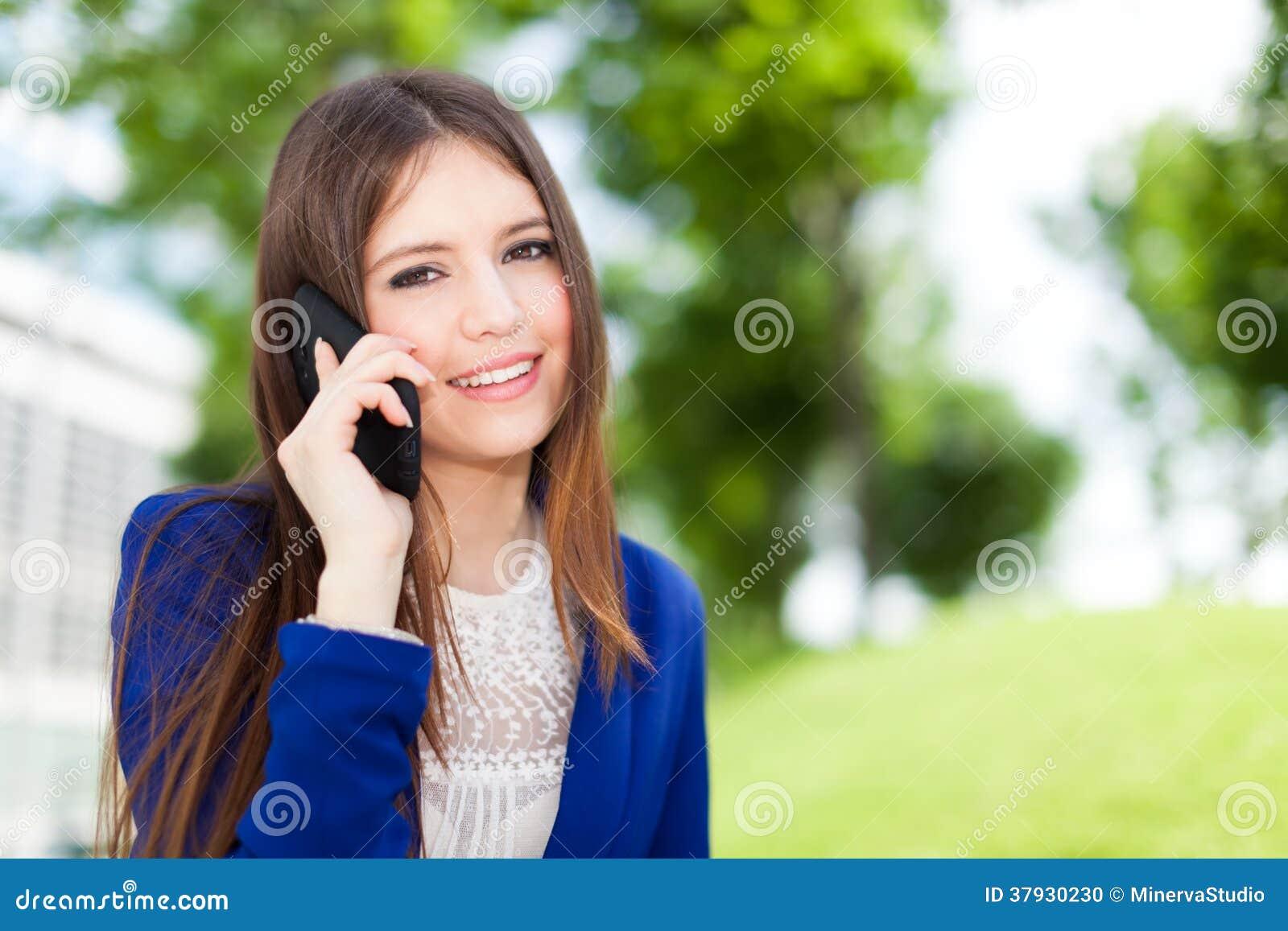 Retrato da mulher de negócios