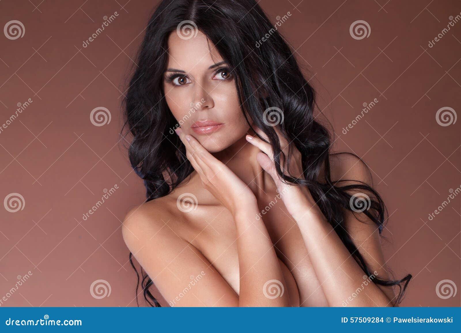 Retrato da mulher  sexy