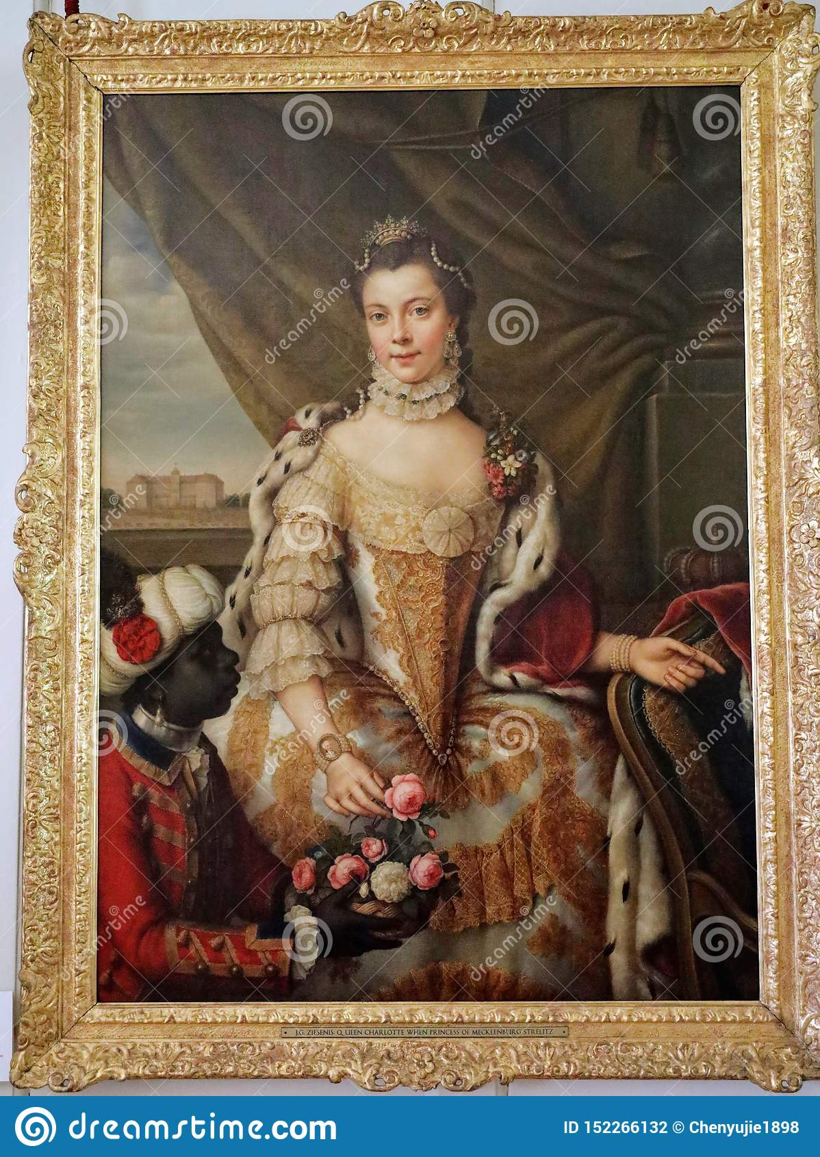 Retrato da rainha Charlotte