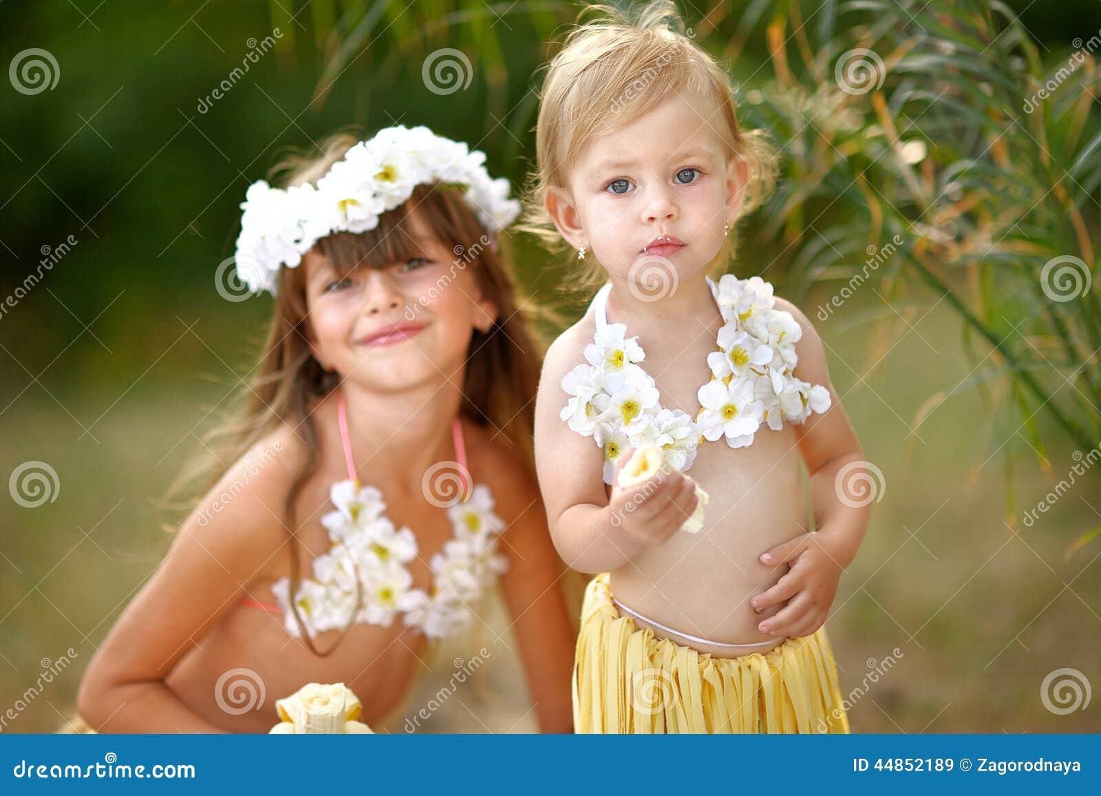 Retrato de dos hermanas