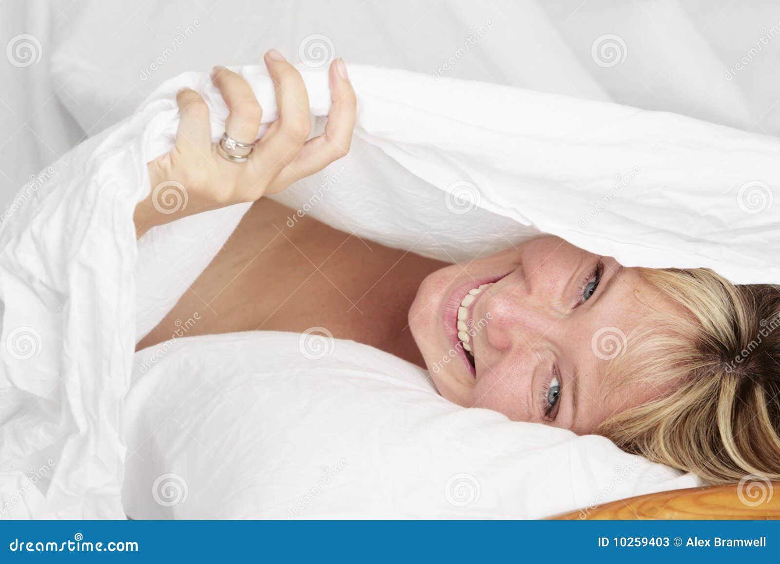 Retrato de la cama