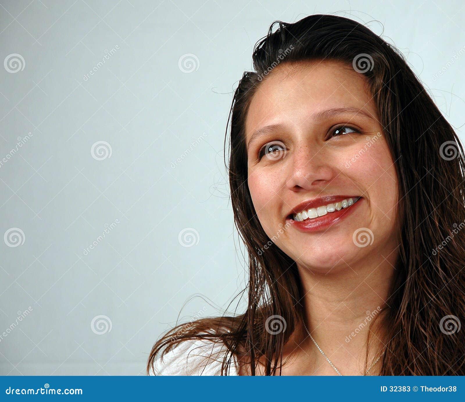 Download Retrato de la mujer imagen de archivo. Imagen de muchacha - 32383