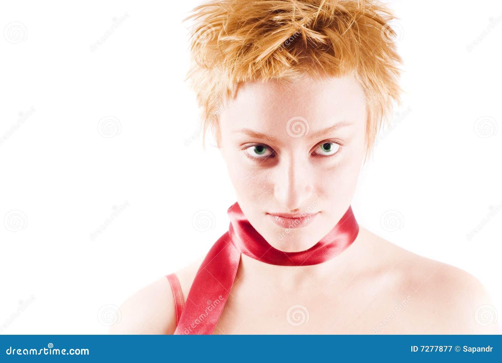 Retrato de la mujer hermosa