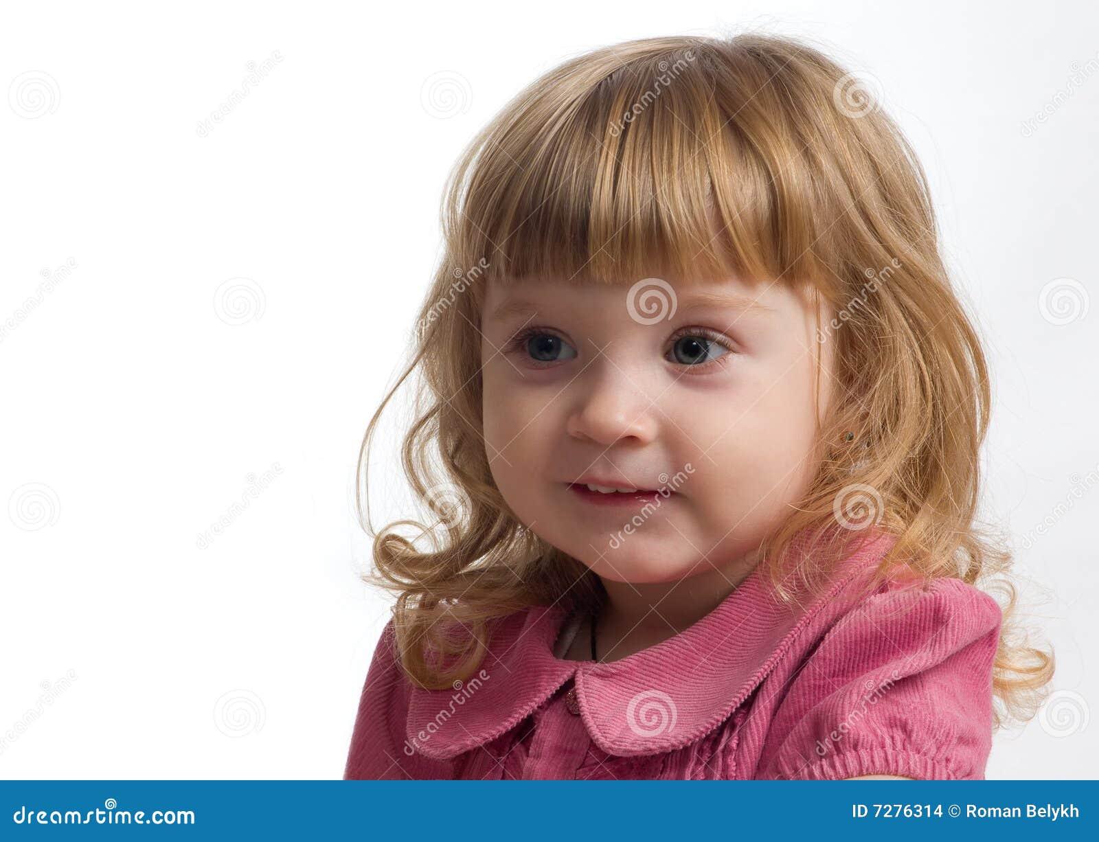 Retrato de la niña.
