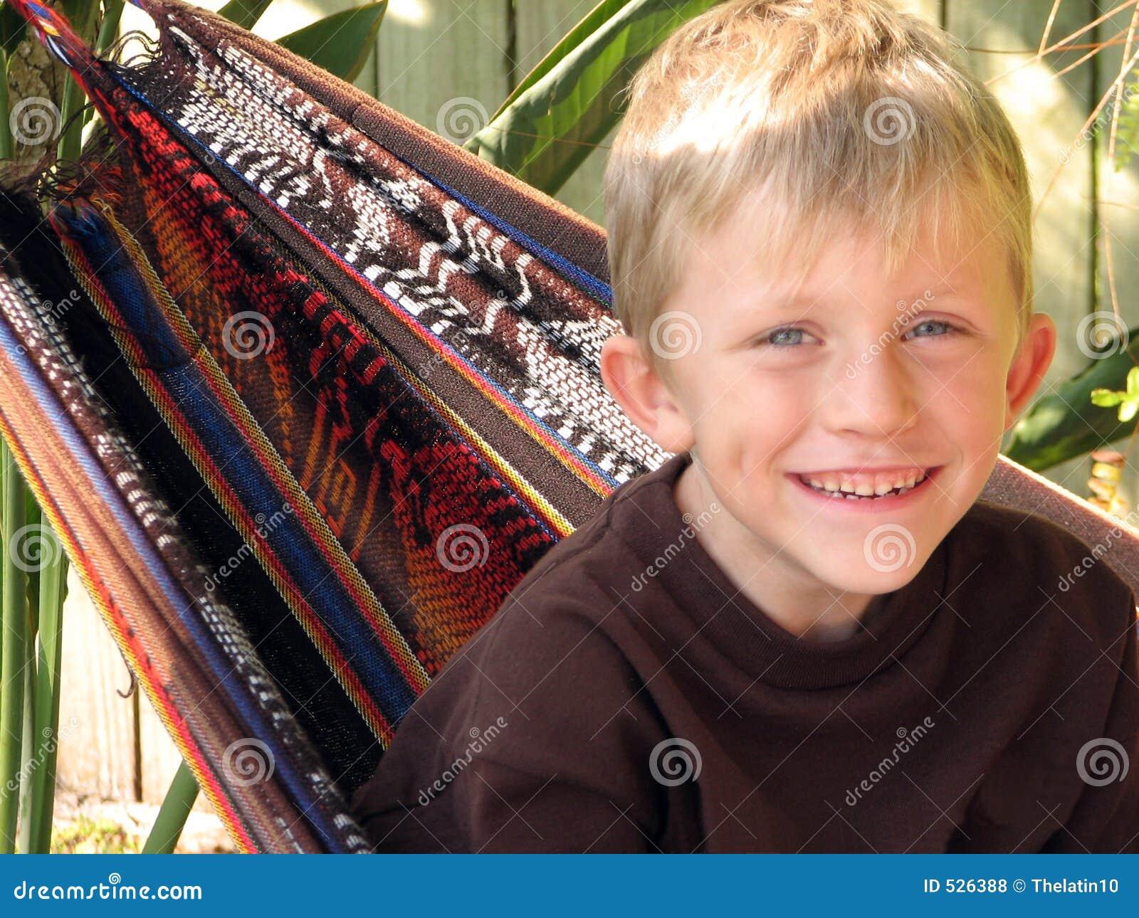 Retrato de Little Boy