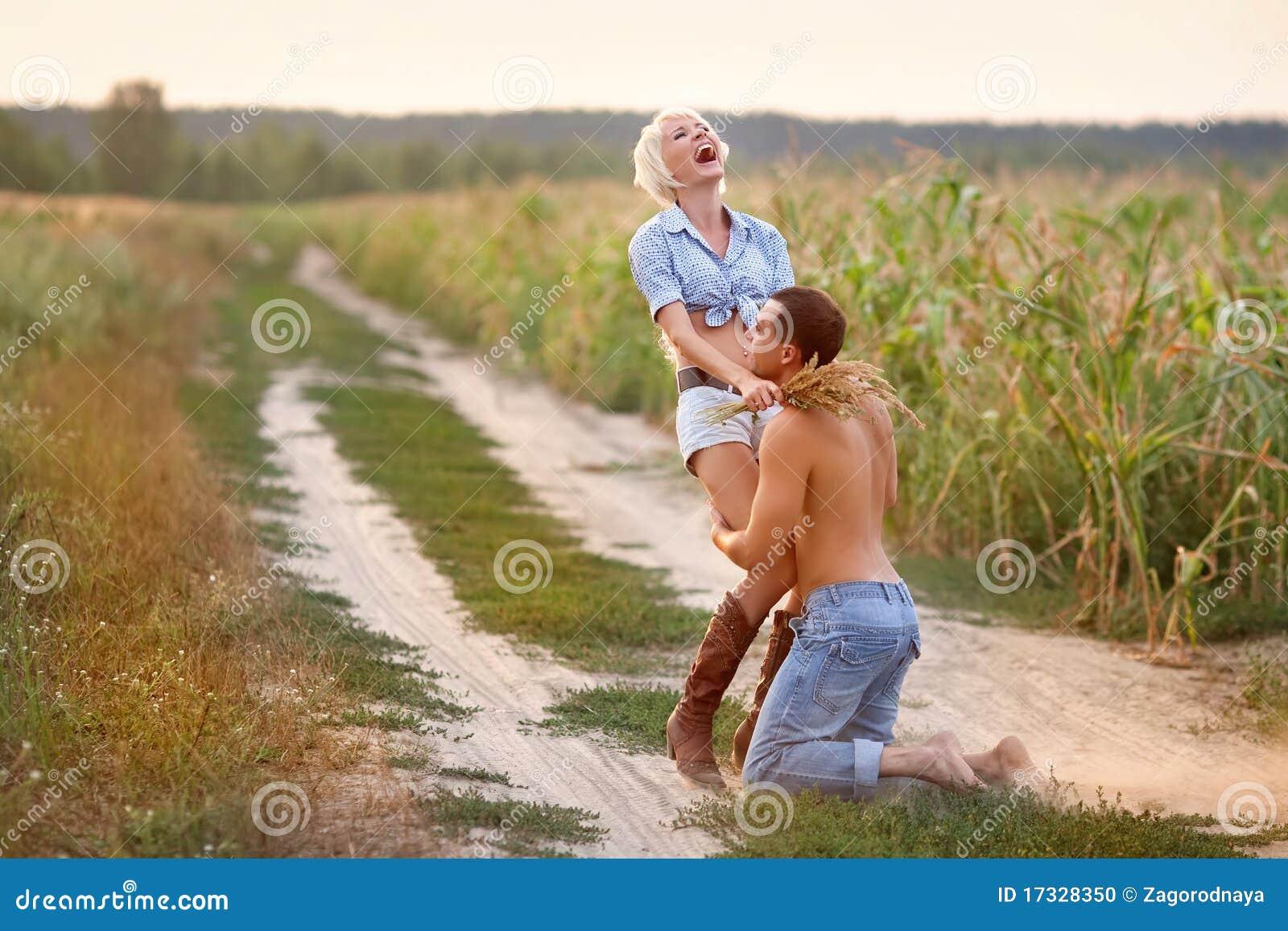 Retrato de pares do amor