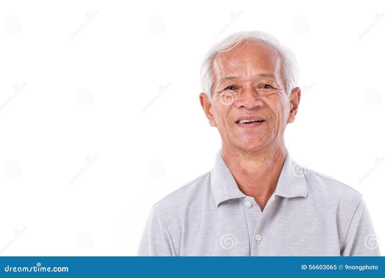 Retrato de rir o homem superior
