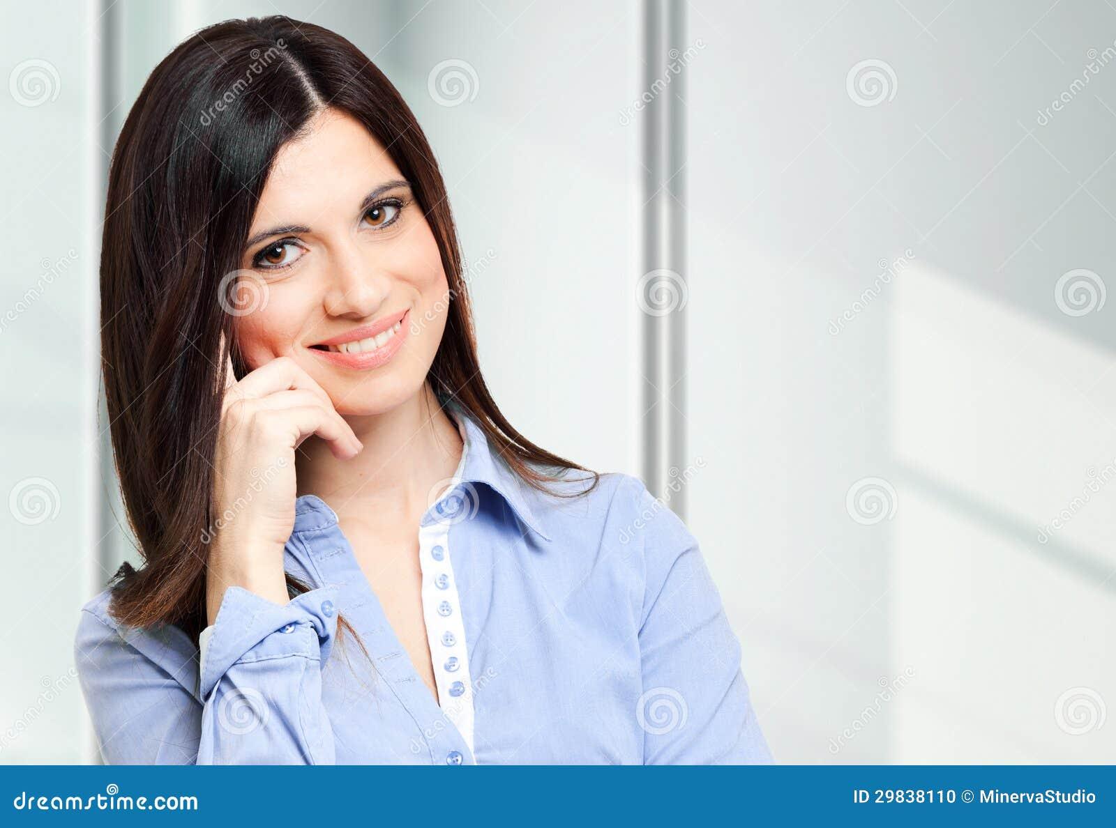 Mulher de negócios bonita